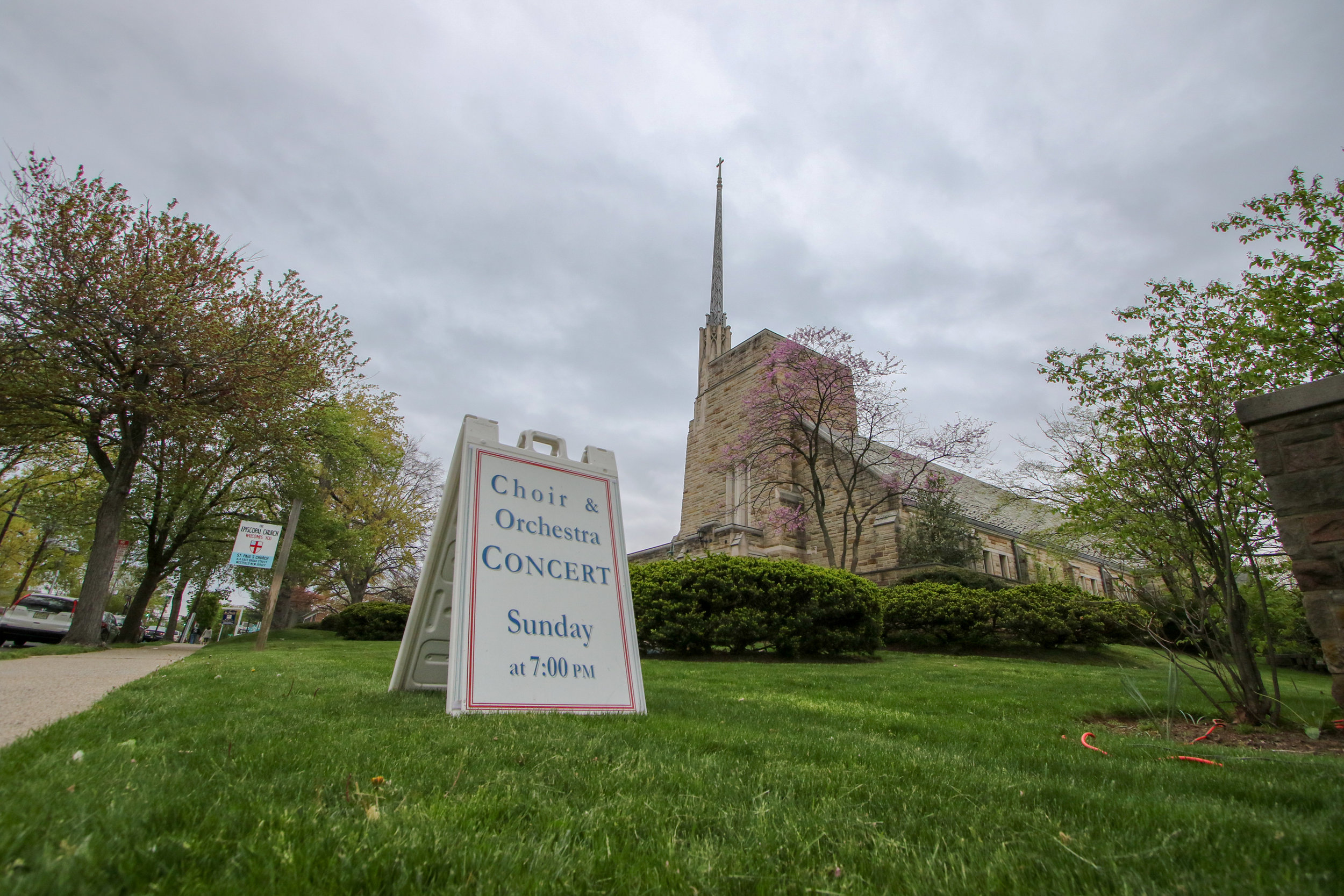 St. Paul's Episcopal Church is located in the heart of downtown Westfield at 414 East Broad Street. -