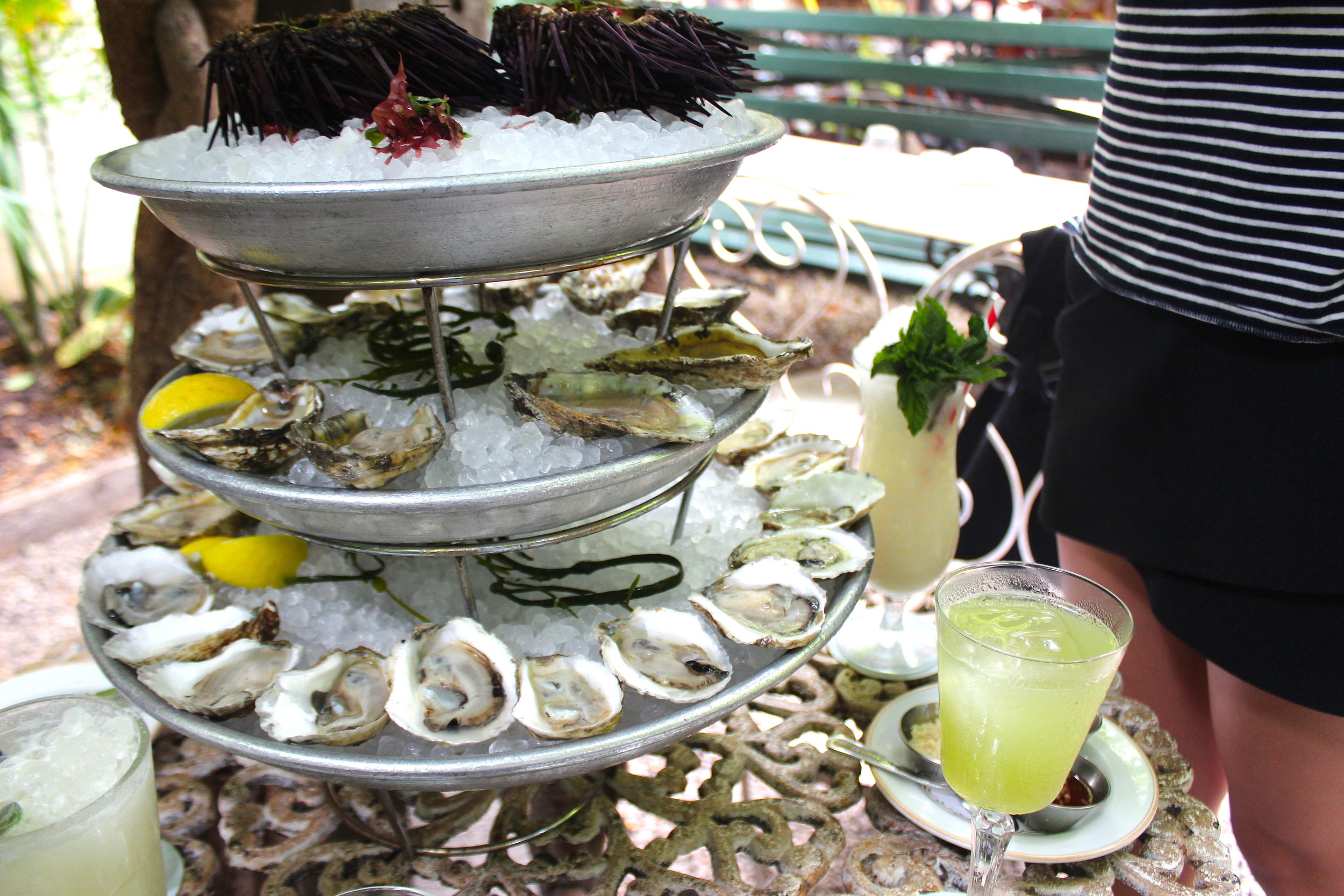 Oysters, Uni, and Absinthe at Maison Premiere