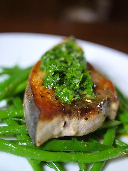 Swordfish Chimichurri. Source:  CulinaryCara