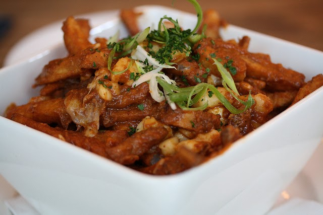 Curry Poutine. Source:  Danielle Scott