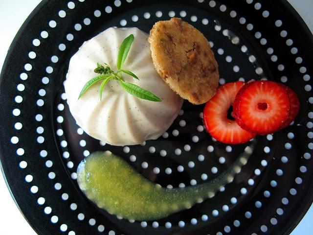 Lemon Verbena Panna Cotta. Source:  Emilie Hardman