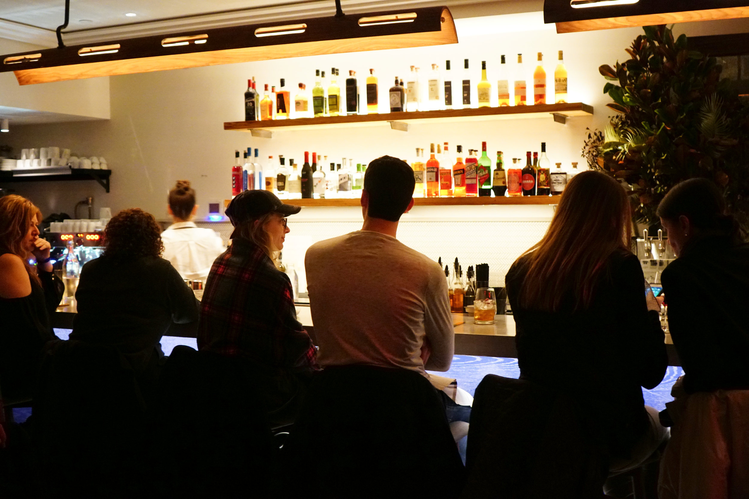 Bar at Loring Place in New York City