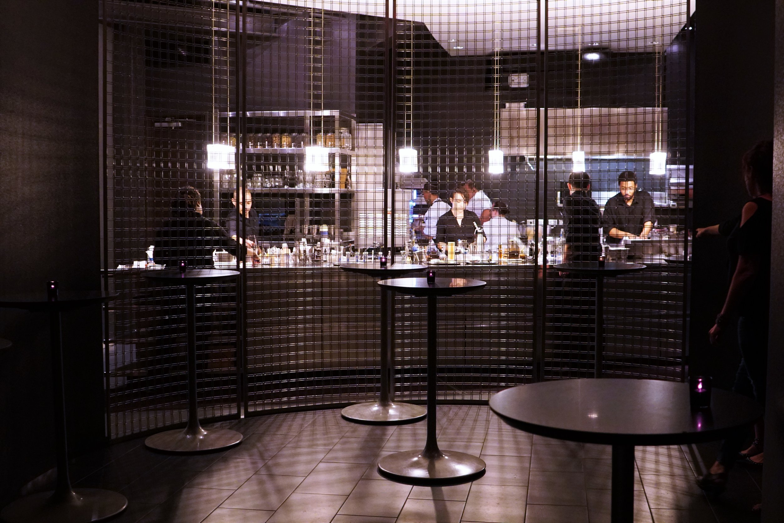Bar Area at The Aviary in Chicago