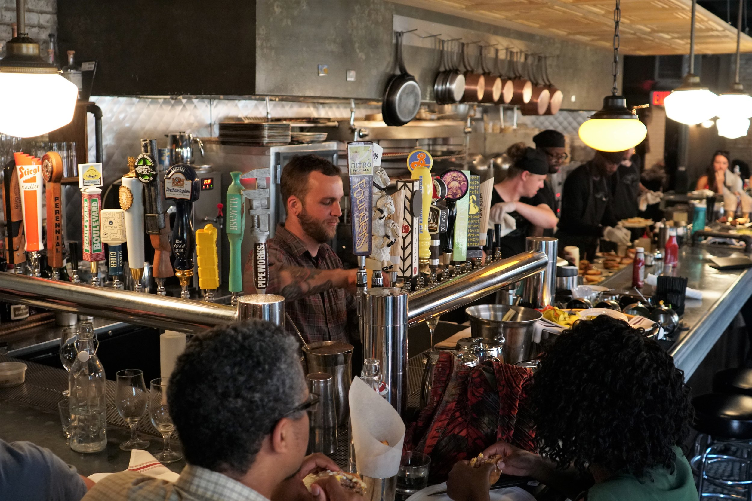 Beers on Tap at Au Cheval in Chicago