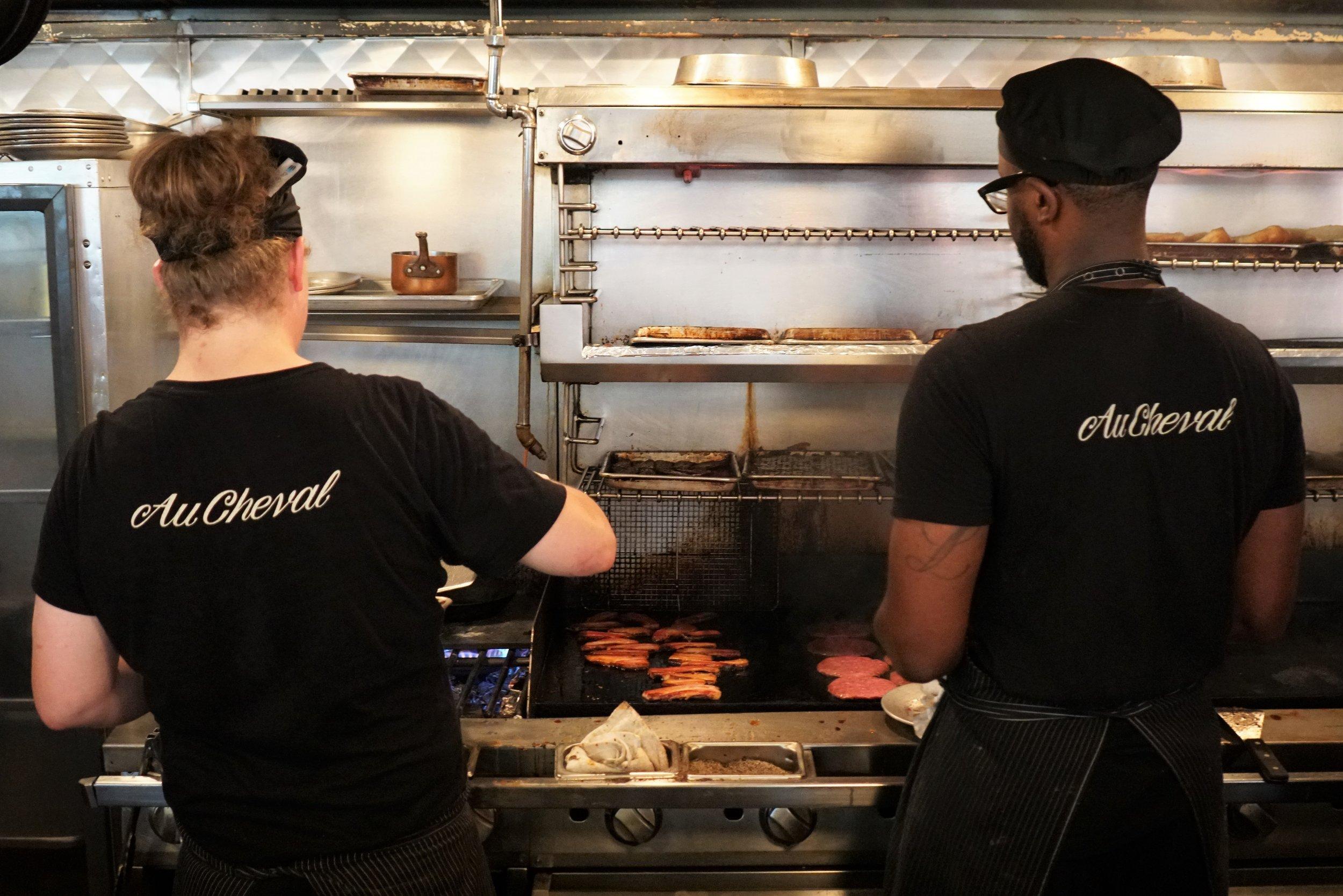 Kitchen at Au Cheval in Chicago