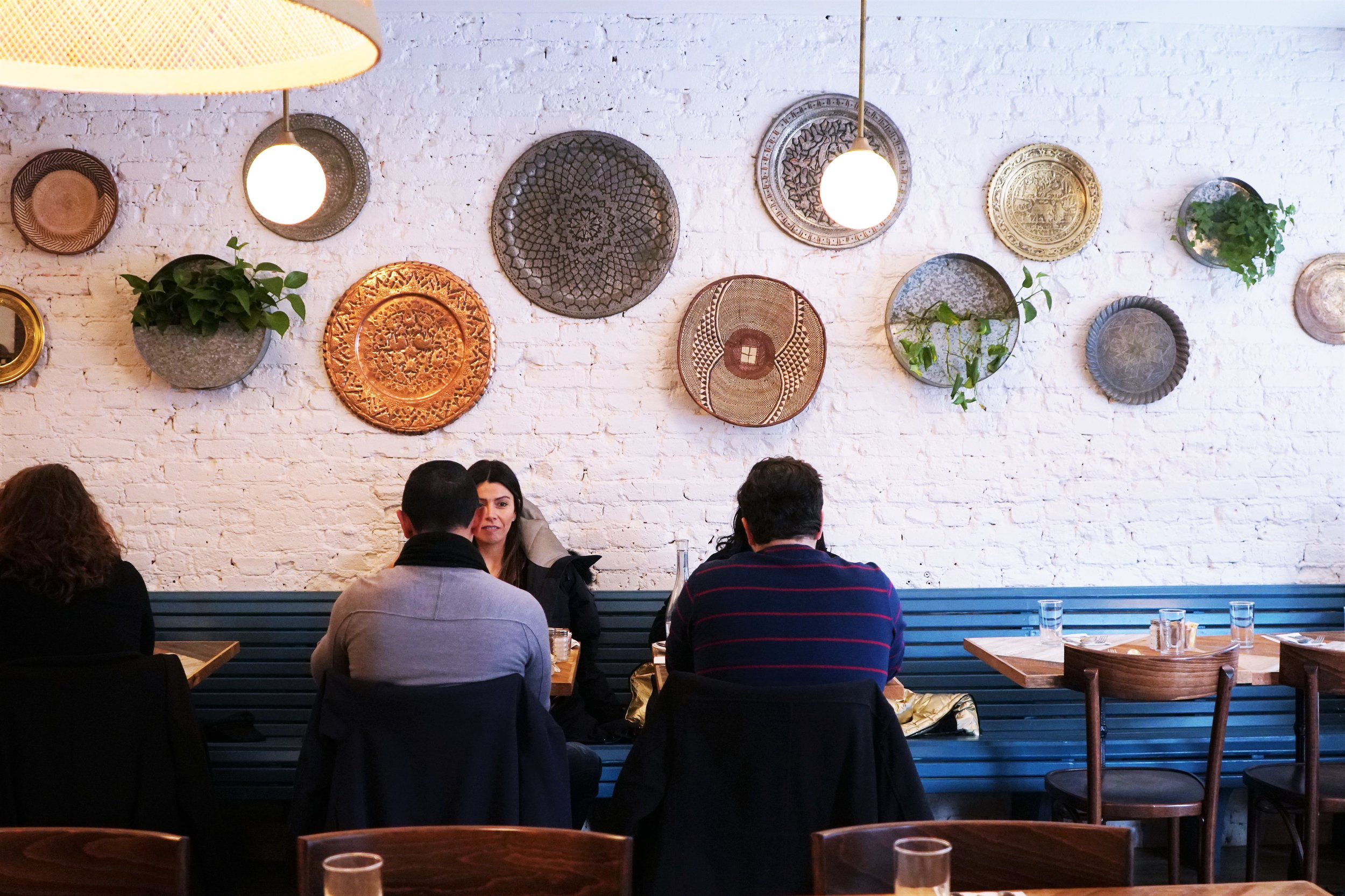 Dining Area at Kubeh in New York City