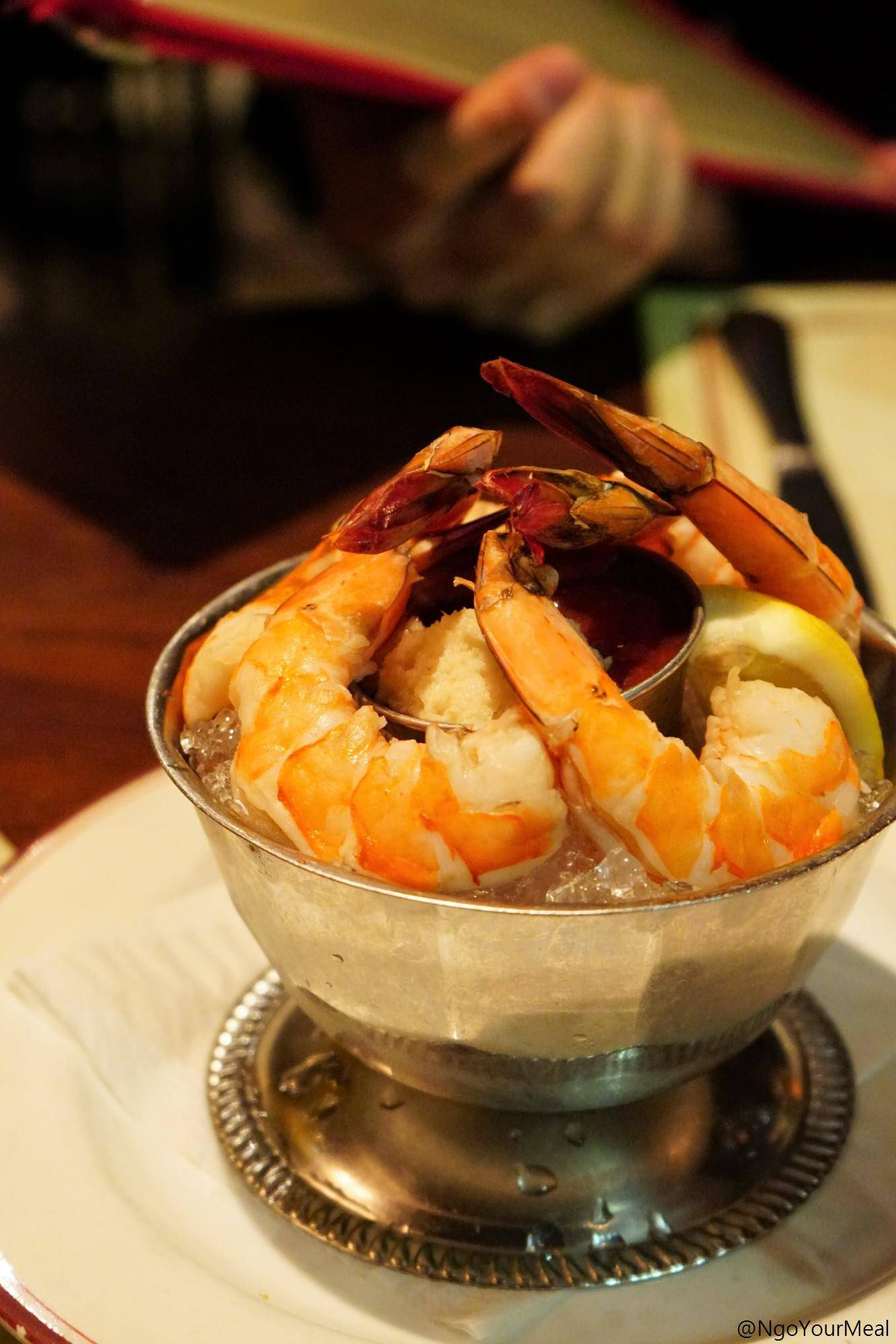 Shrimp Cocktail at Gaslight in Boston