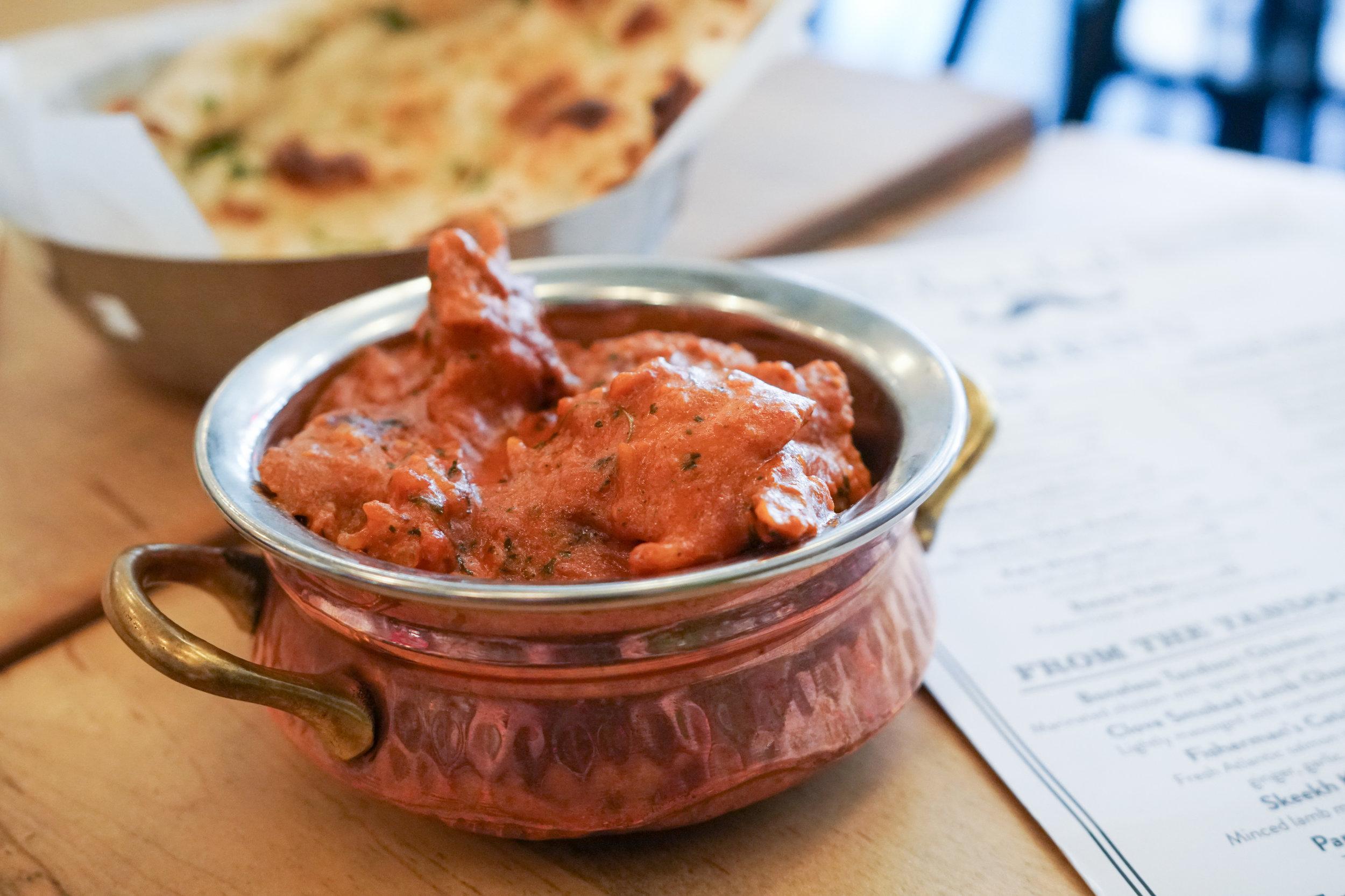 Boneless Tandoori Chicken at Badshah in New York City