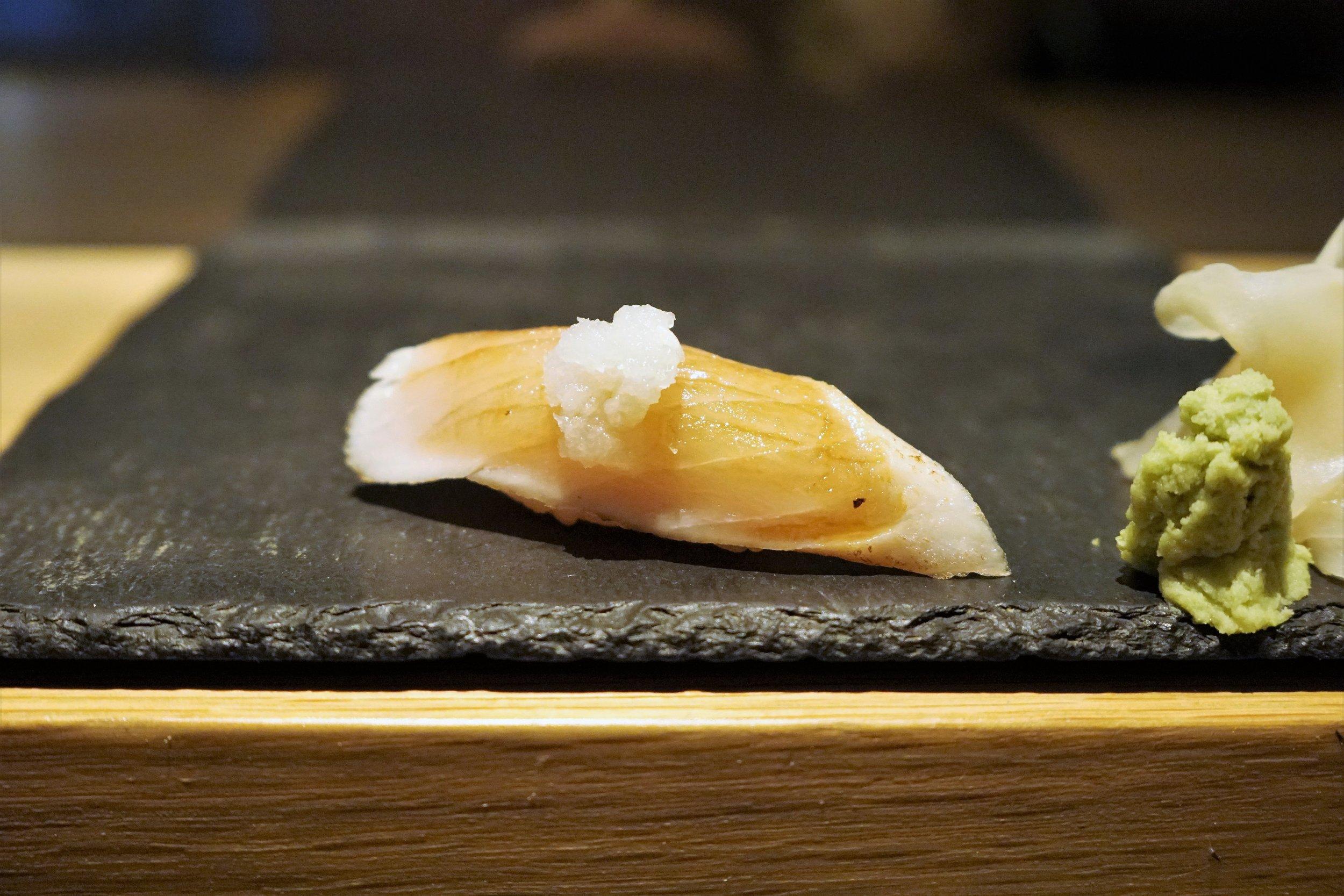 Albacore Tuna Sushi at DOMODOMO in New York City