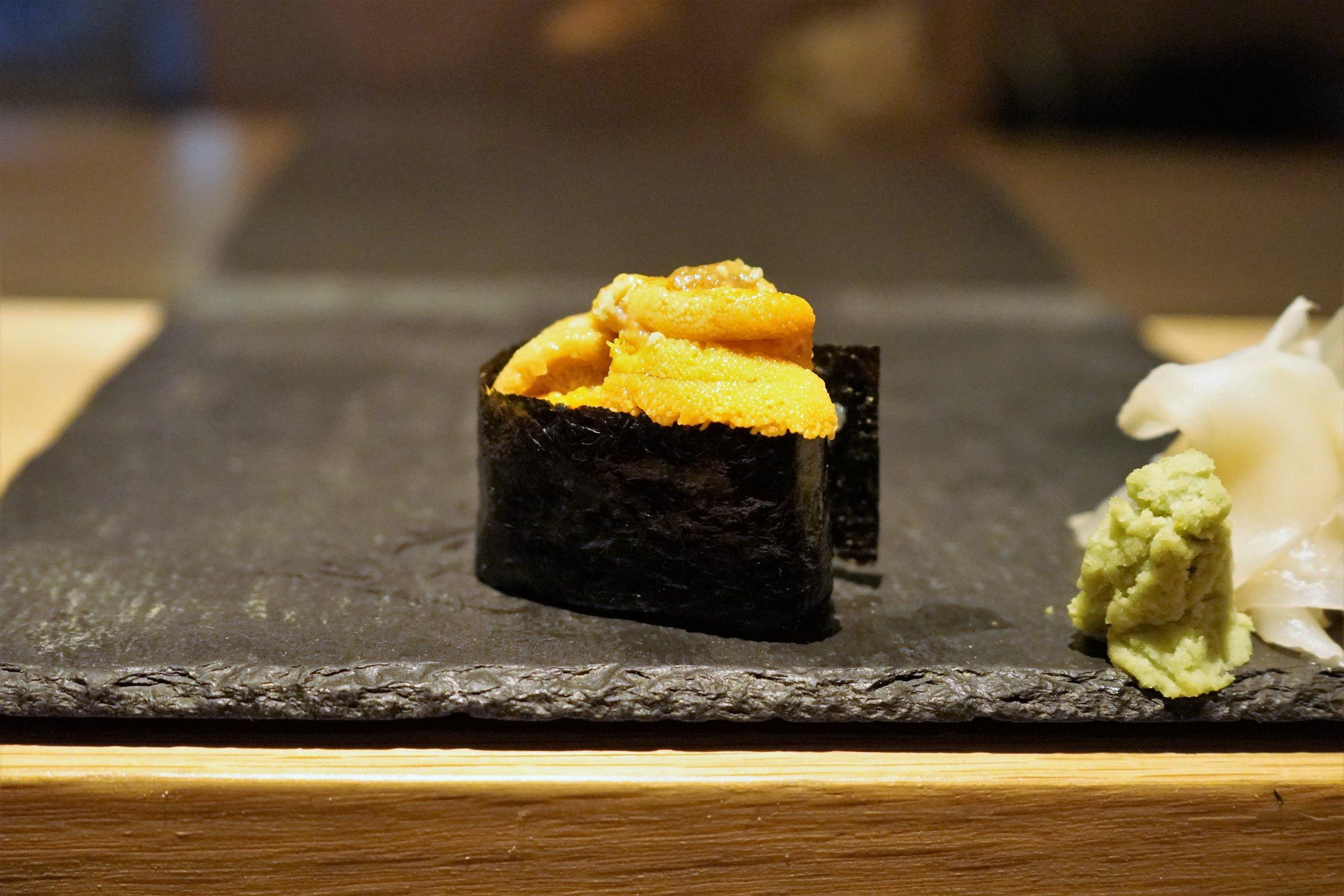 Uni Sushi at DOMODOMO in New York City