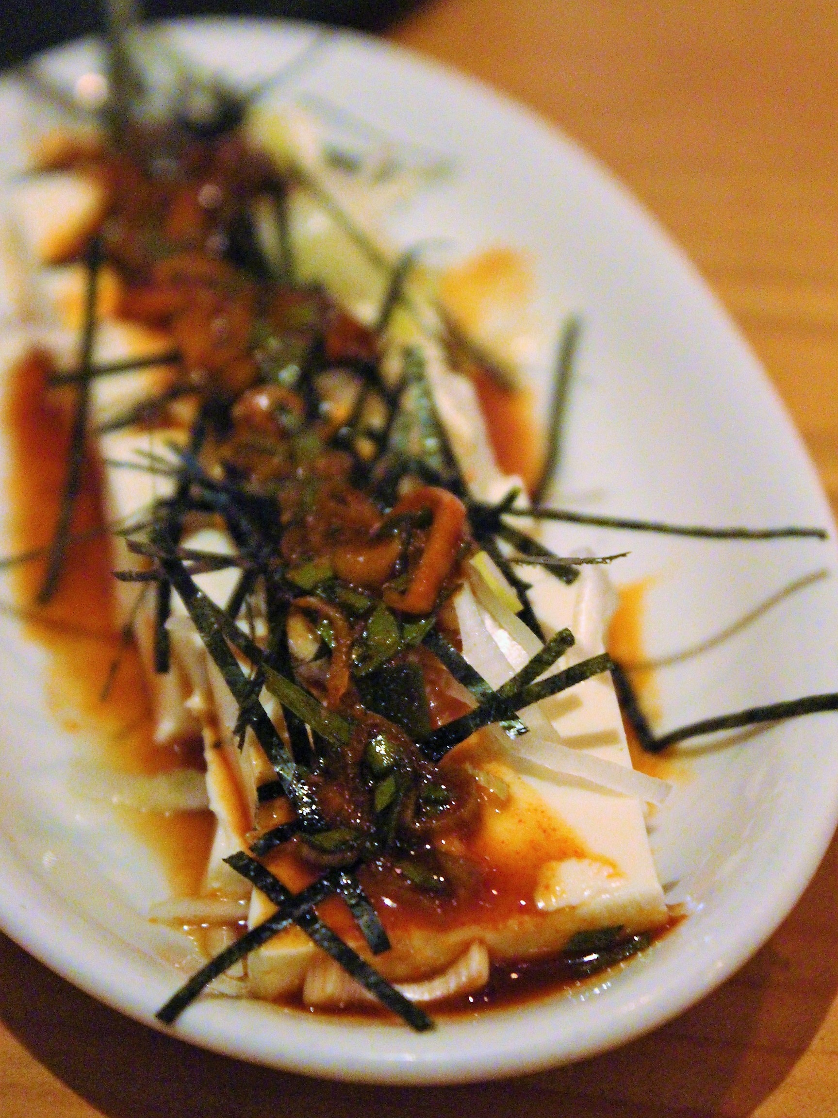 Unforgettable Tofu at Yakiniku Futago in New York City