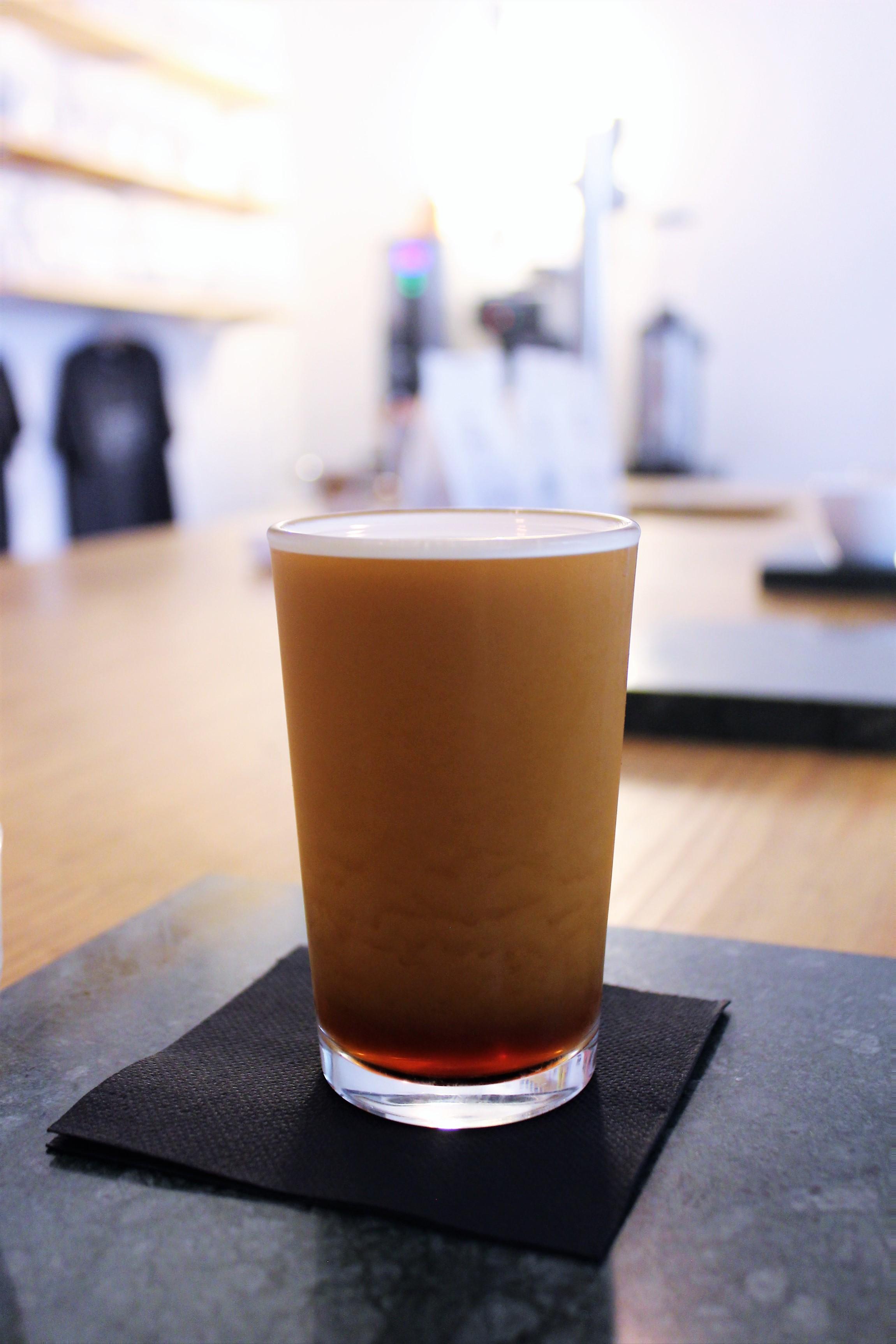 Nitro Cold Brew at Nømad Coffee in Barcelona
