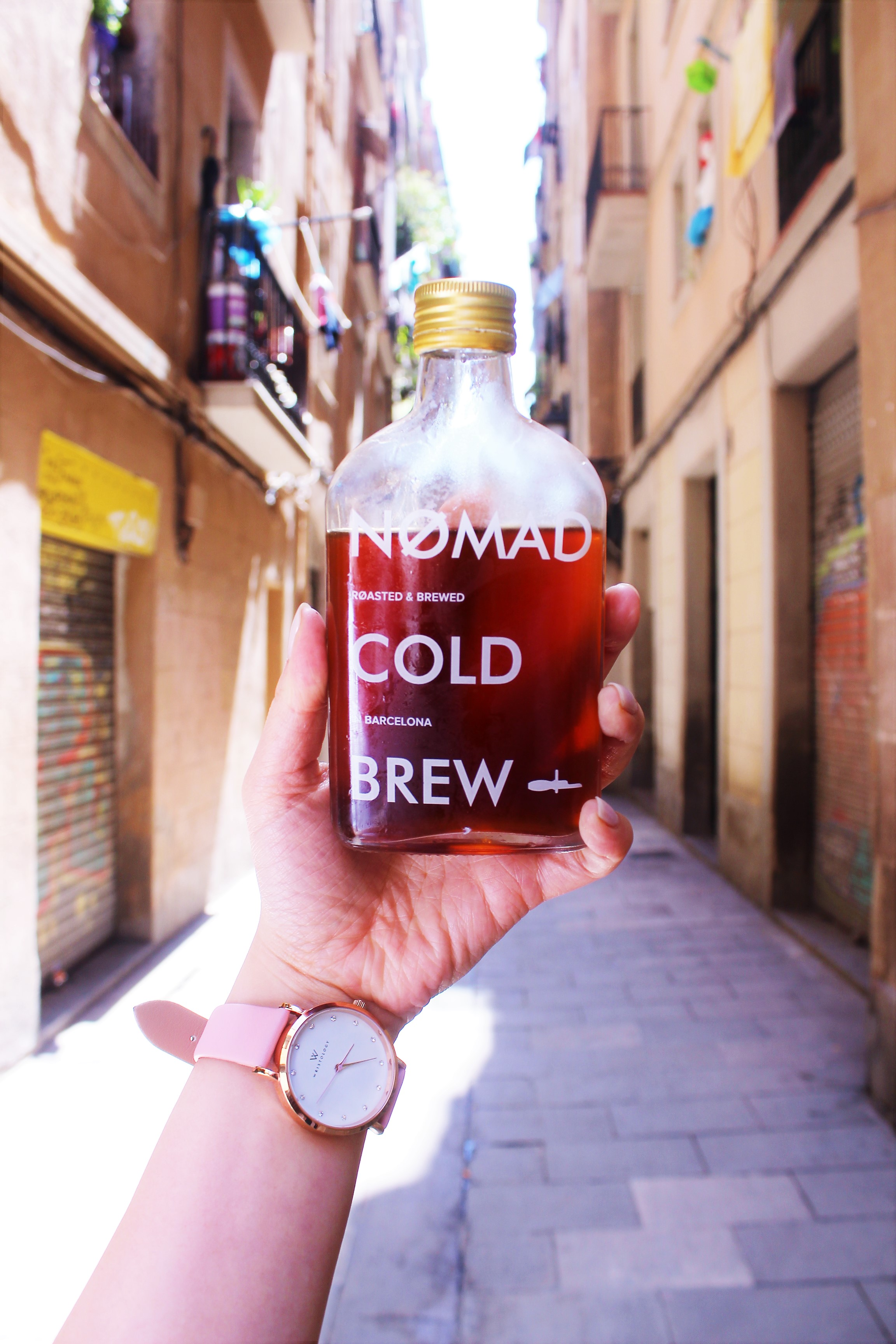 Nomad Cold Brew at Nømad Coffee in Barcelona