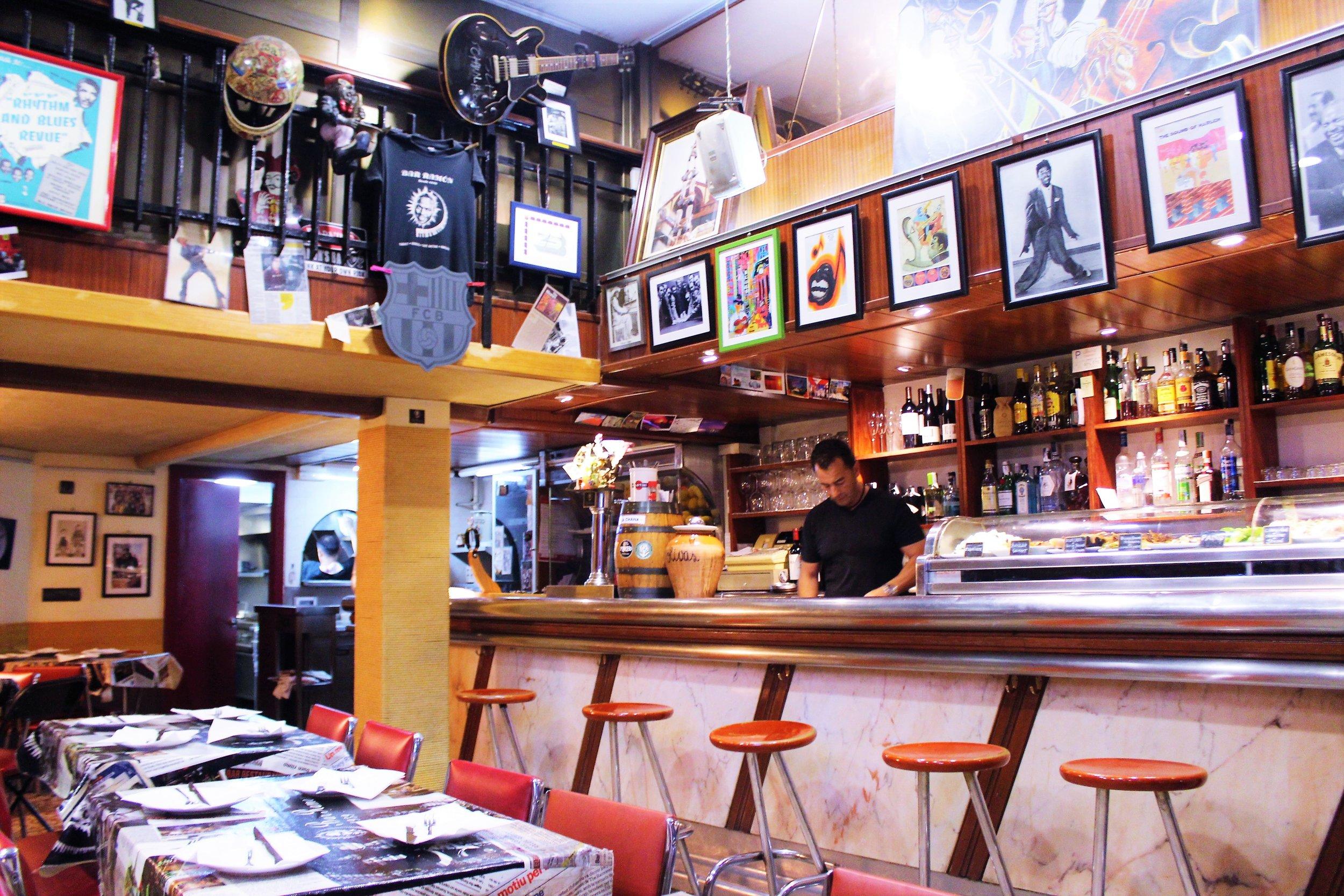 Bar Ramón in Barcelona