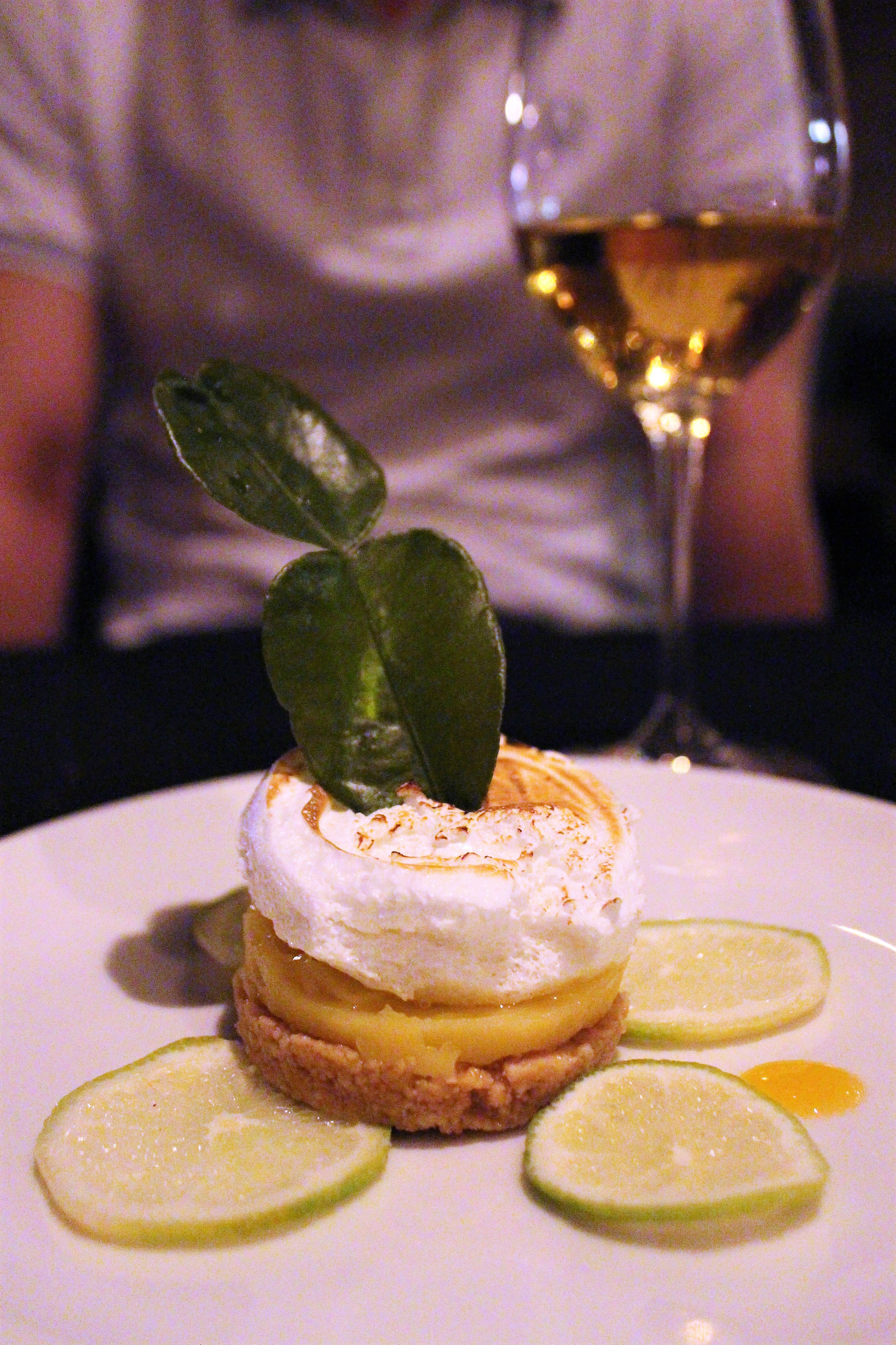 Cheesecake with Mango at Eldiset in Barcelona