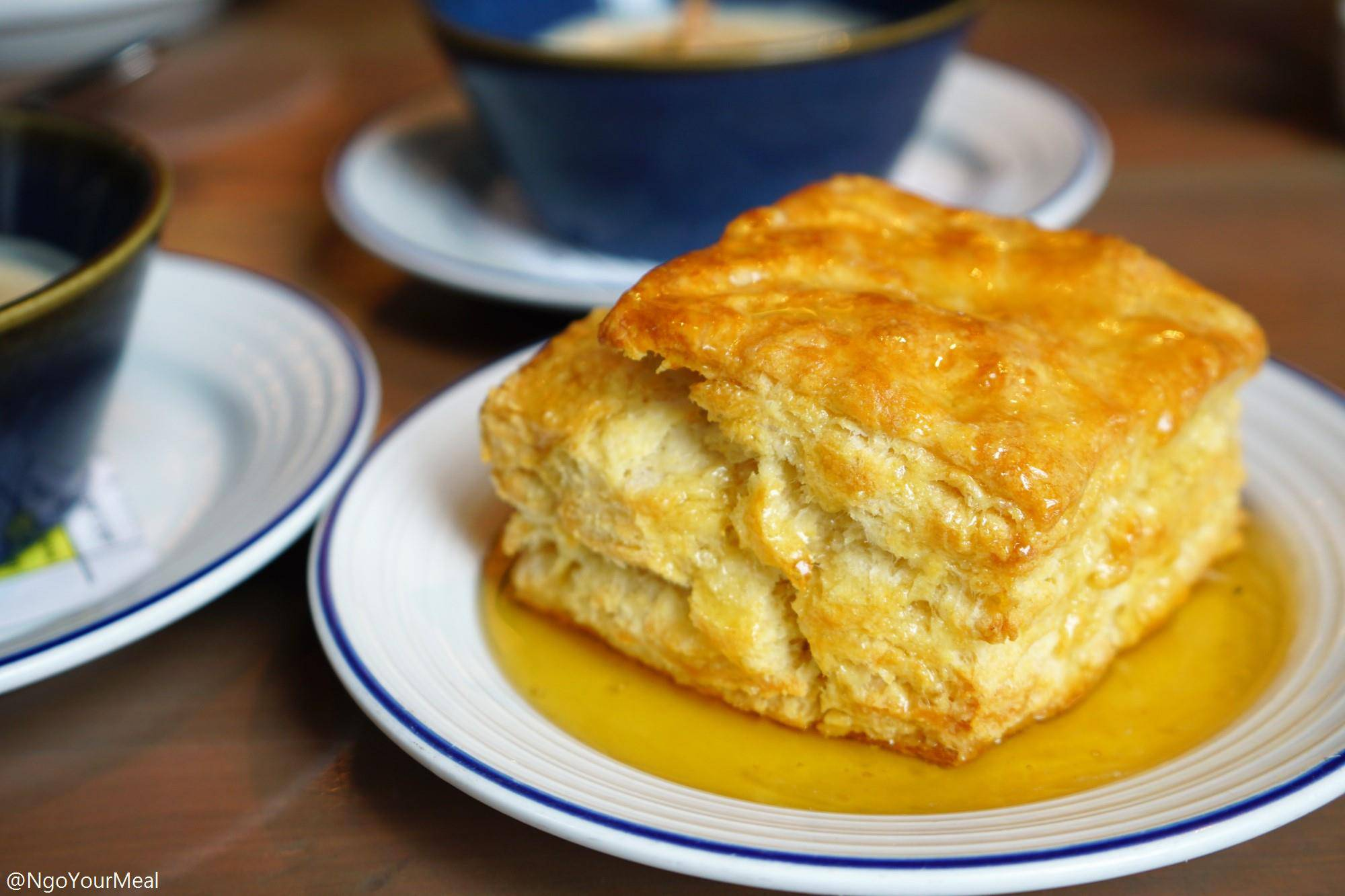 Buttermilk Biscuit at Island Creek Oyster Bar in Boston