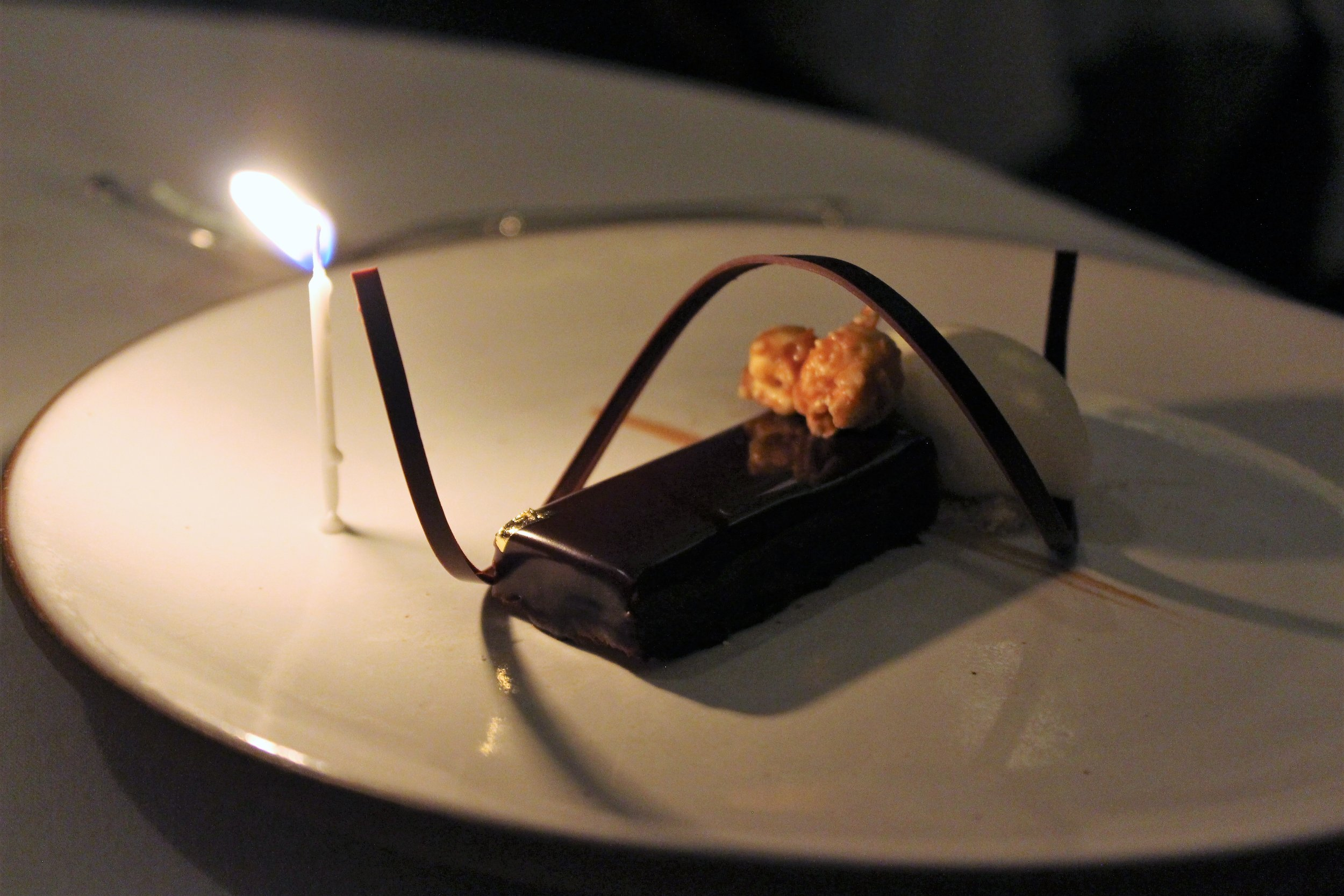 2008 Chocolate Palette with Peanut Butter and Popcorn Ice Cream at EMP in New York City