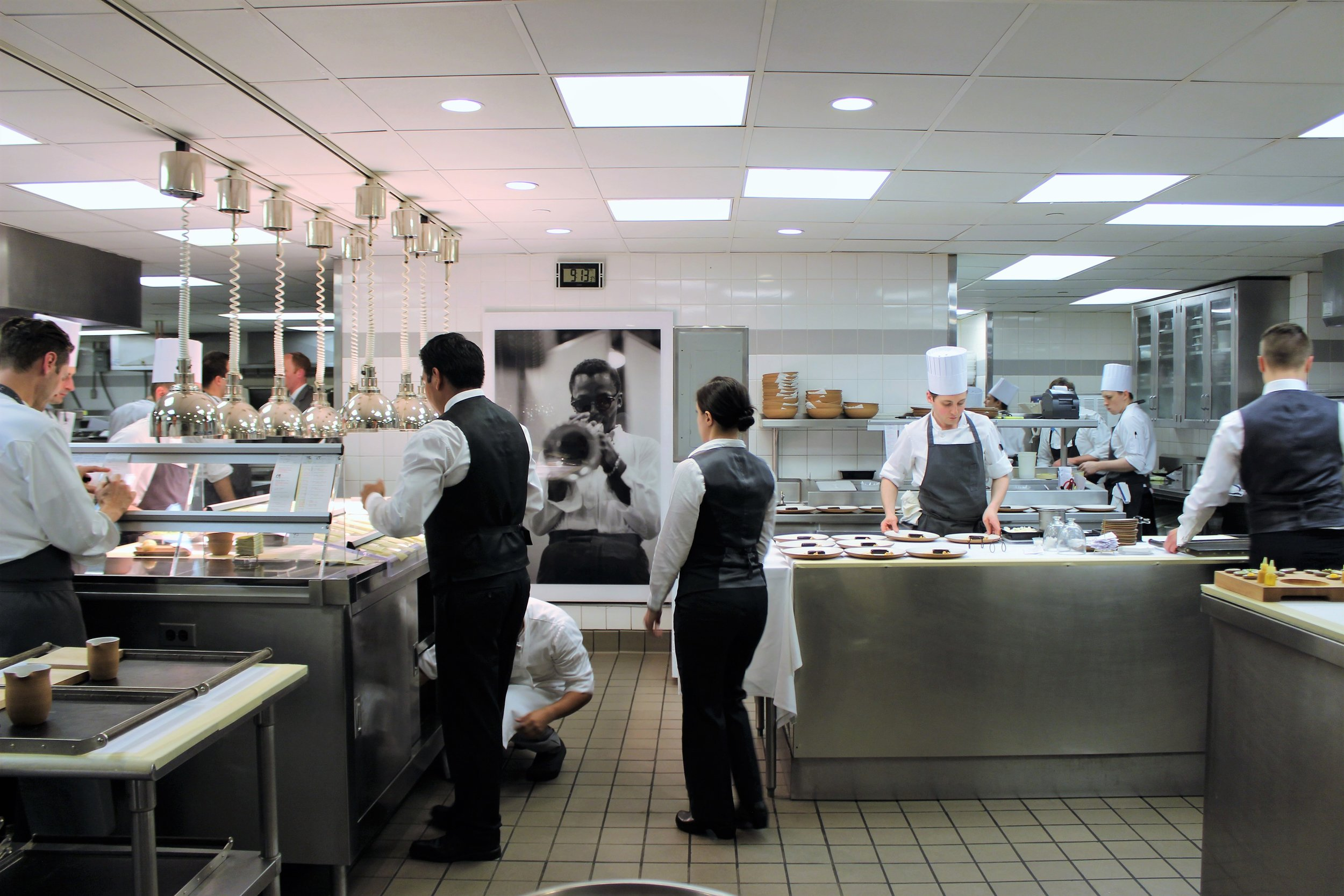 Kitchen at EMP in New York City