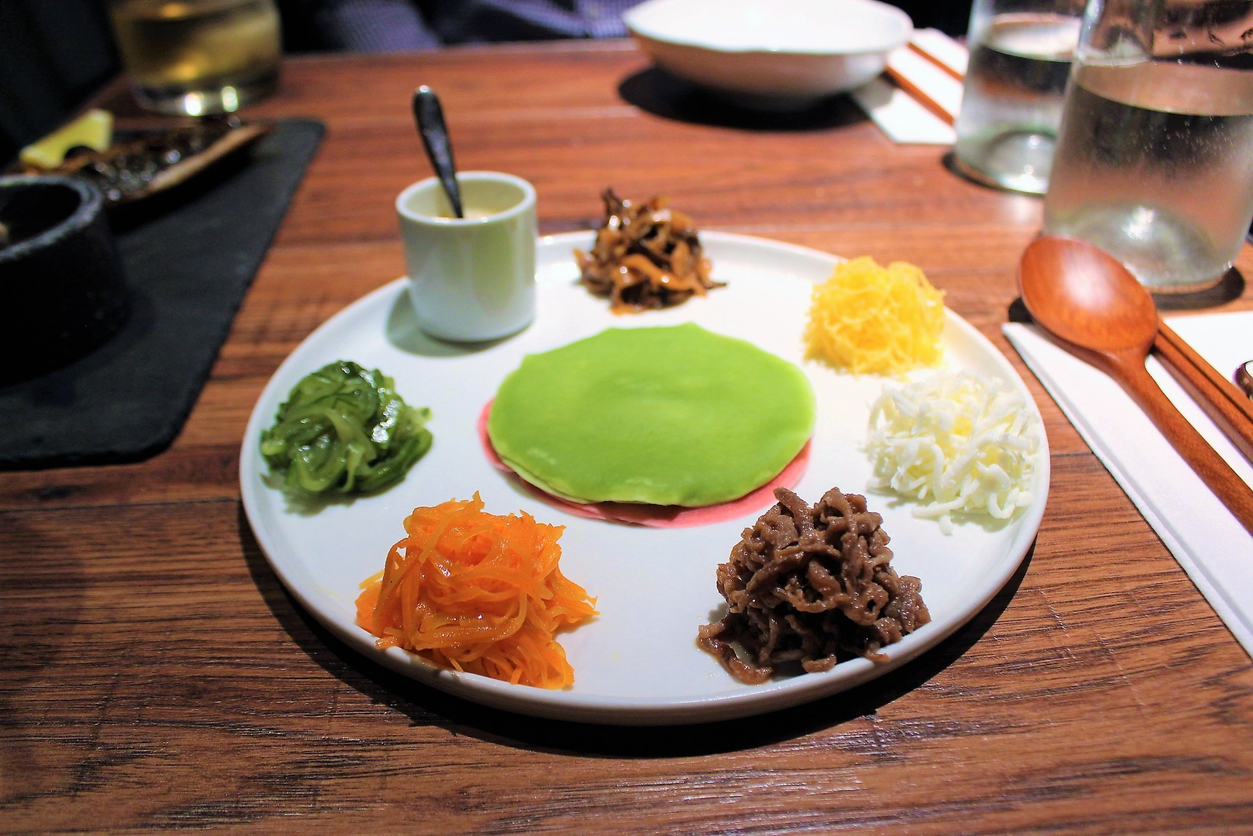 """Chil-jeol-pan"" Seven Flavors at Oiji in New York City"