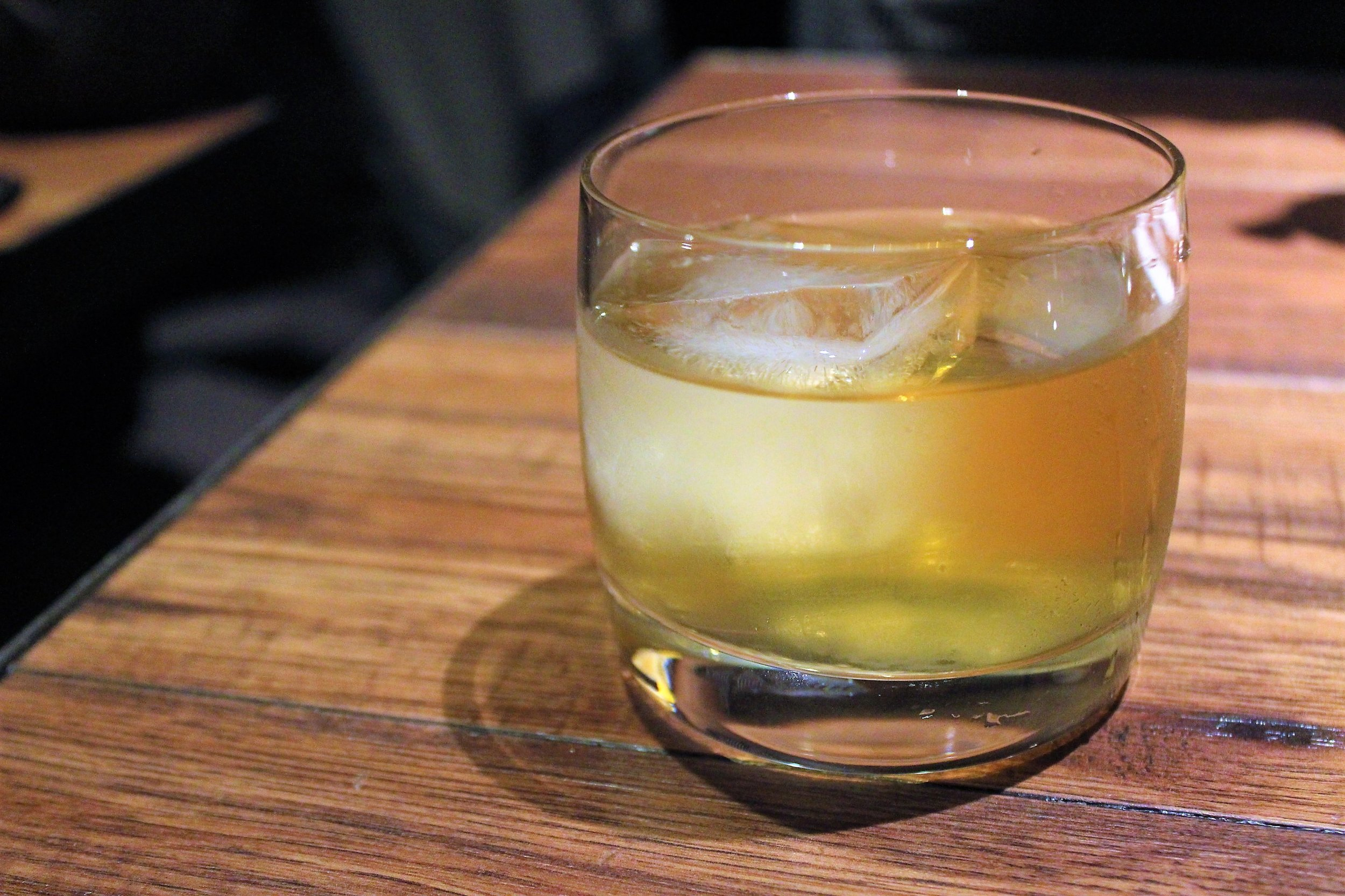 Milk Punch at Oiji in New York City