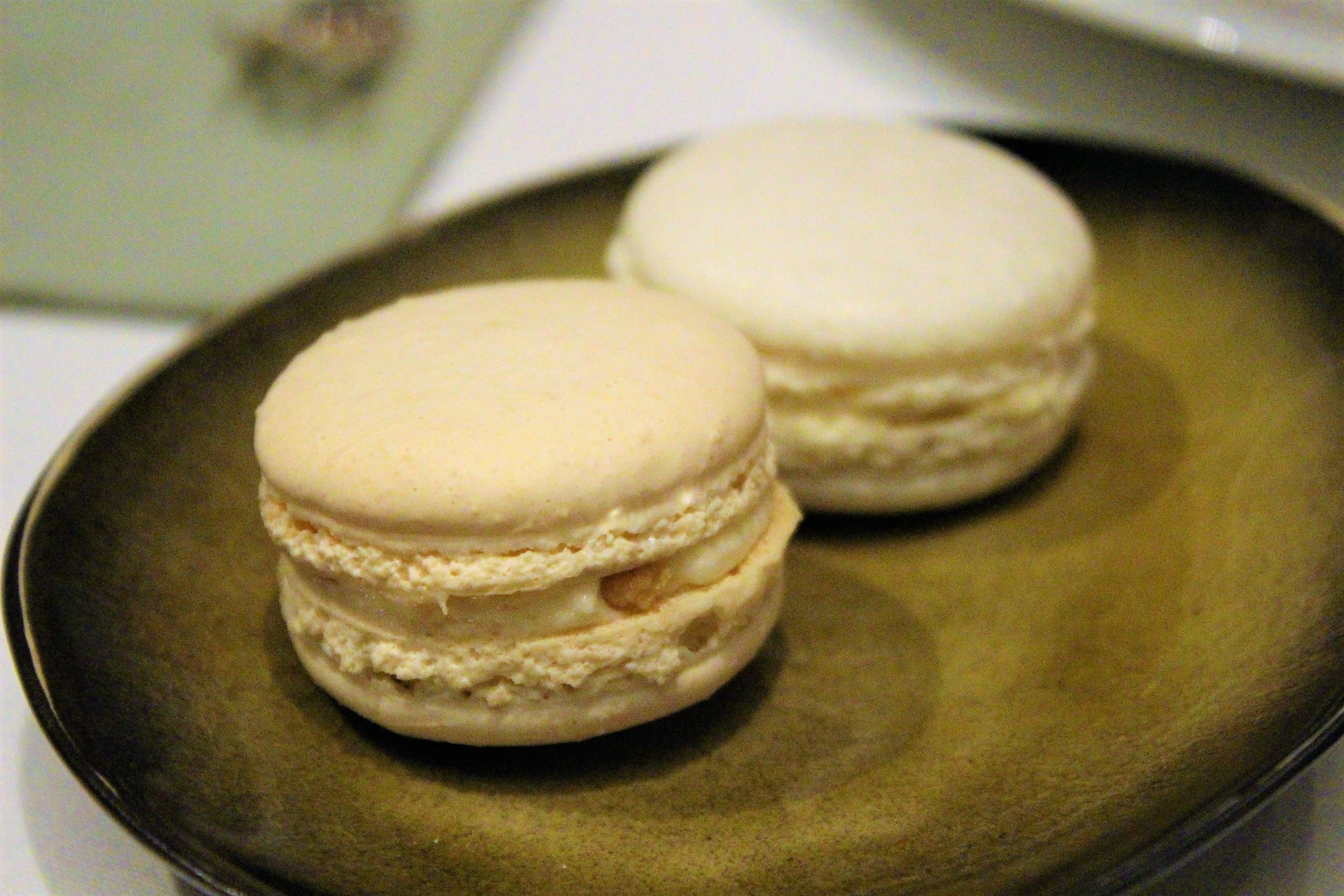 Macaron at Gabriel Kreuther in New York City