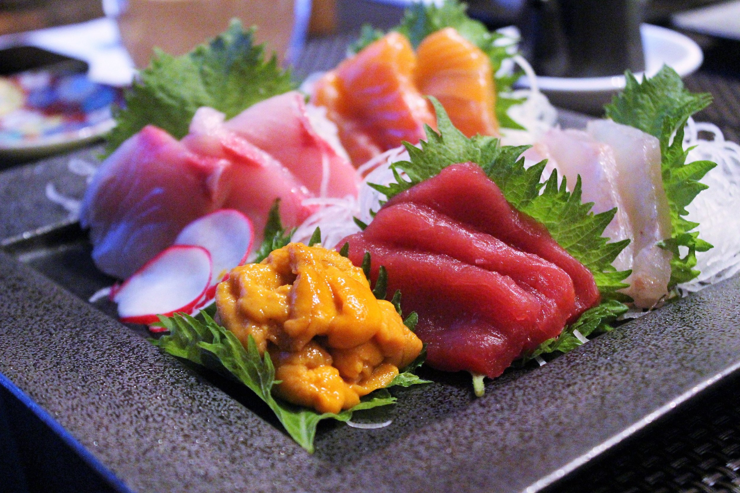 Sashimi at TEISUI in New York City