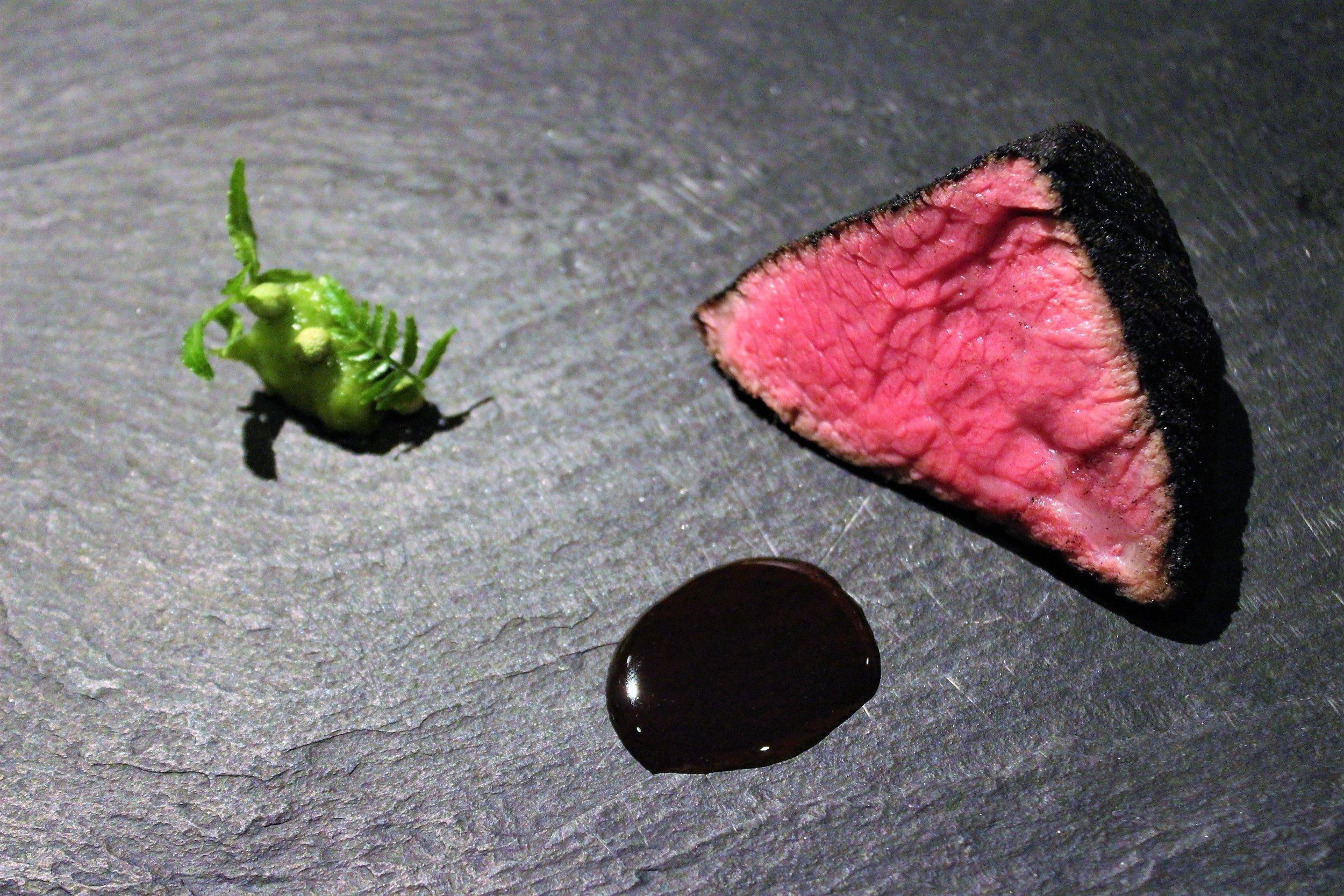 """""""Sumi 2009"""" Kobe Beef at Narisawa in Tokyo, Japan"""