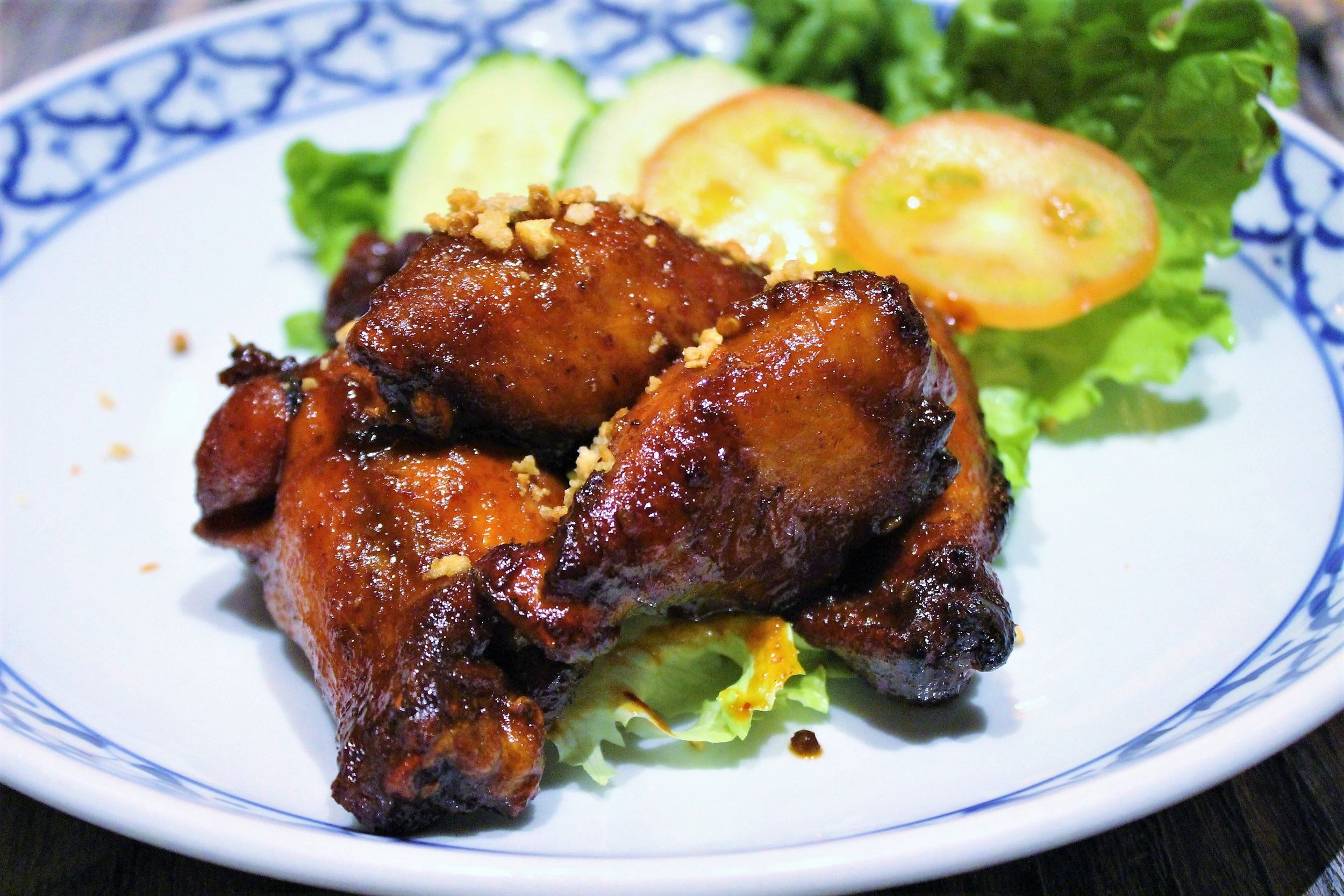 Gai Yang Grilled Marinated Cornish Hen