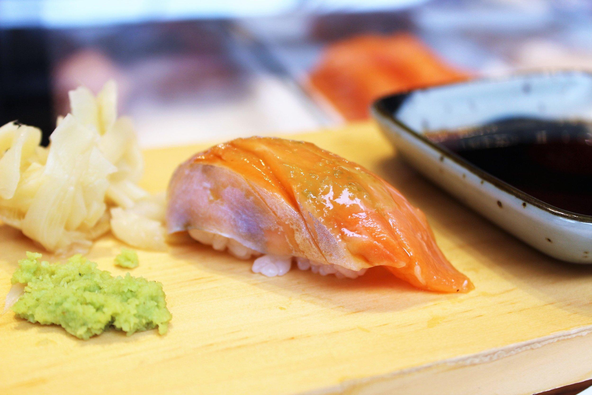 Baby Salmon with Yuzu