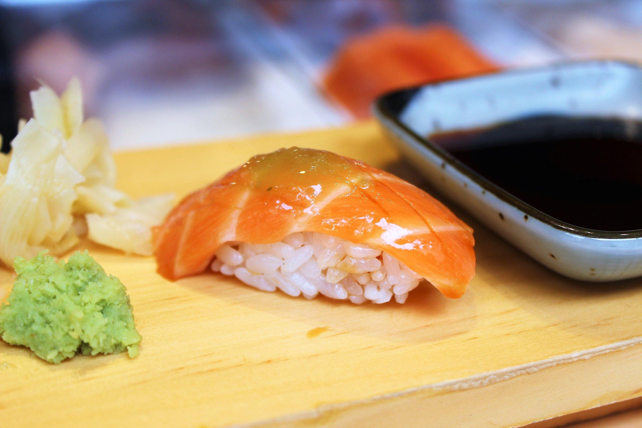 Salmon with Yuzu
