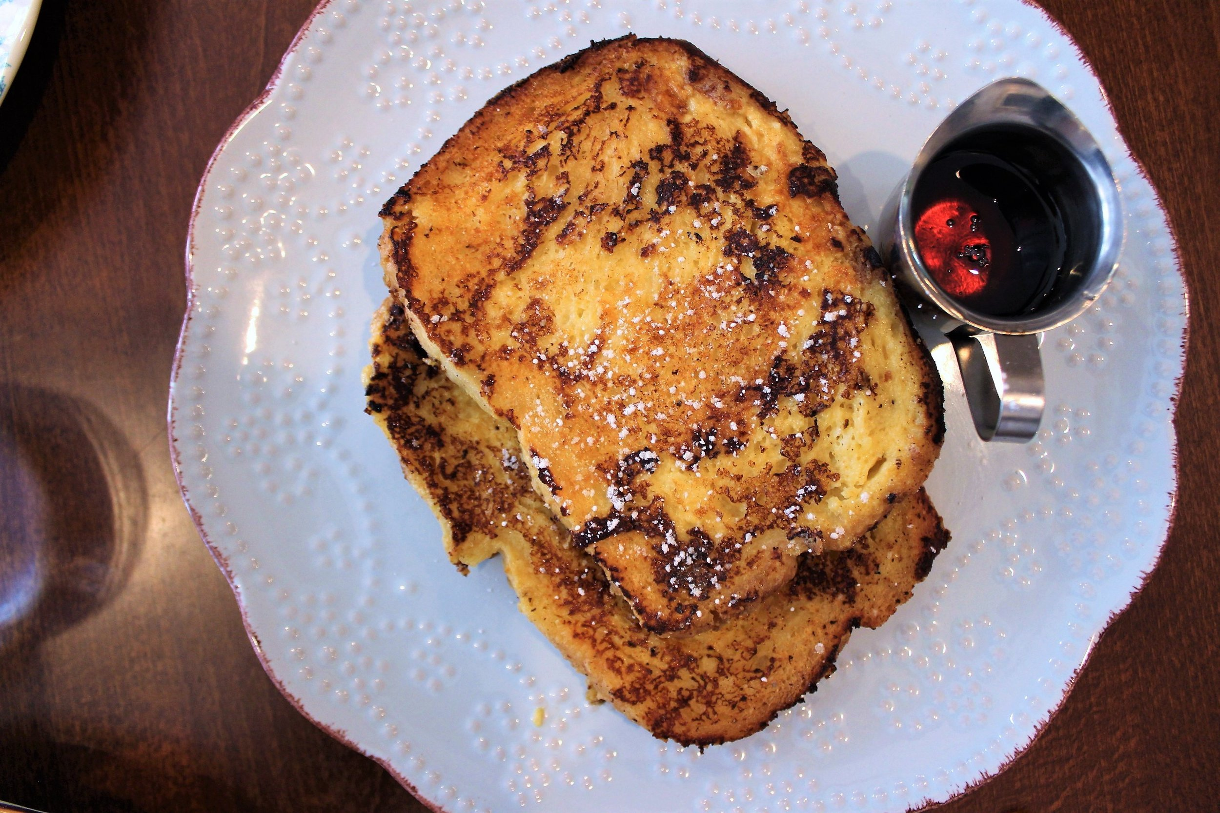 Mom's French Toast Soaked in Condensed Milk Custard