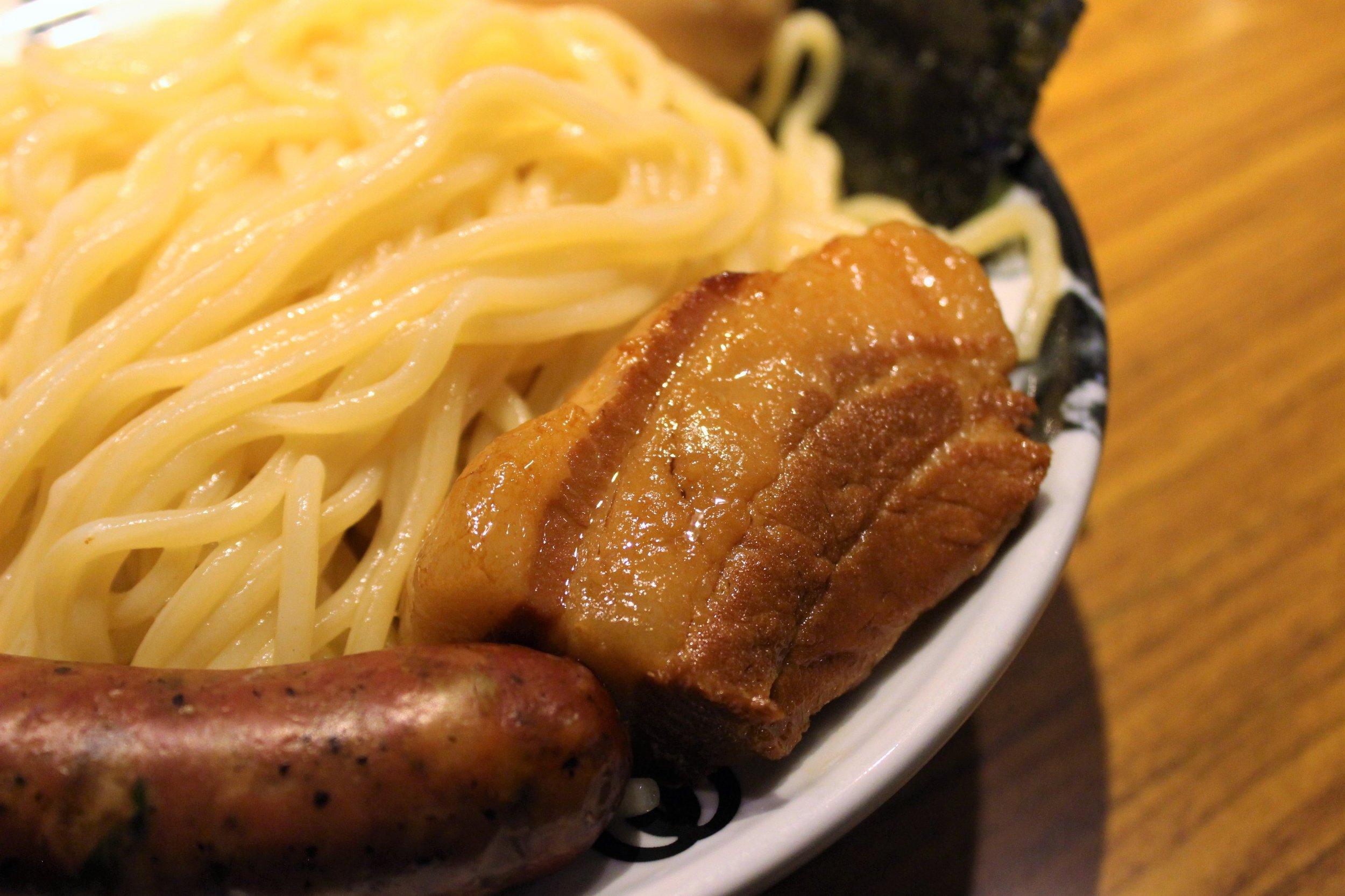 Pork Belly at Menya Musashi Kodo
