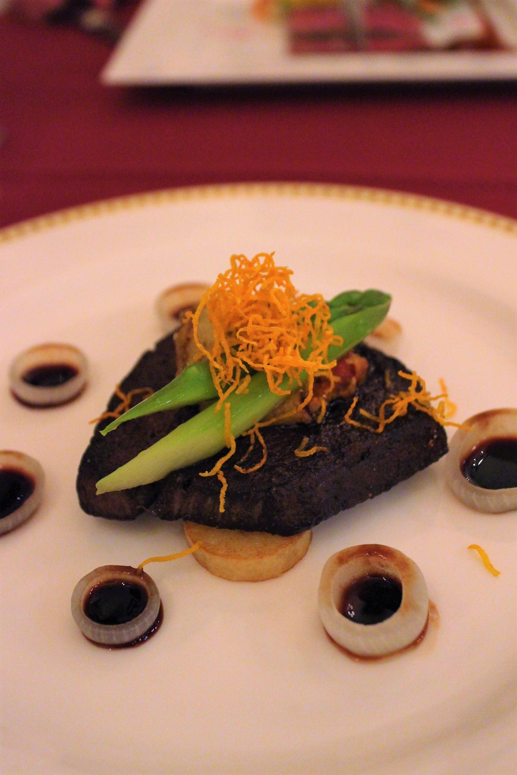 Sautéed Beef Fillet with Red Wine Sauce at Magellan's in DisneySea, Tokyo, Japan