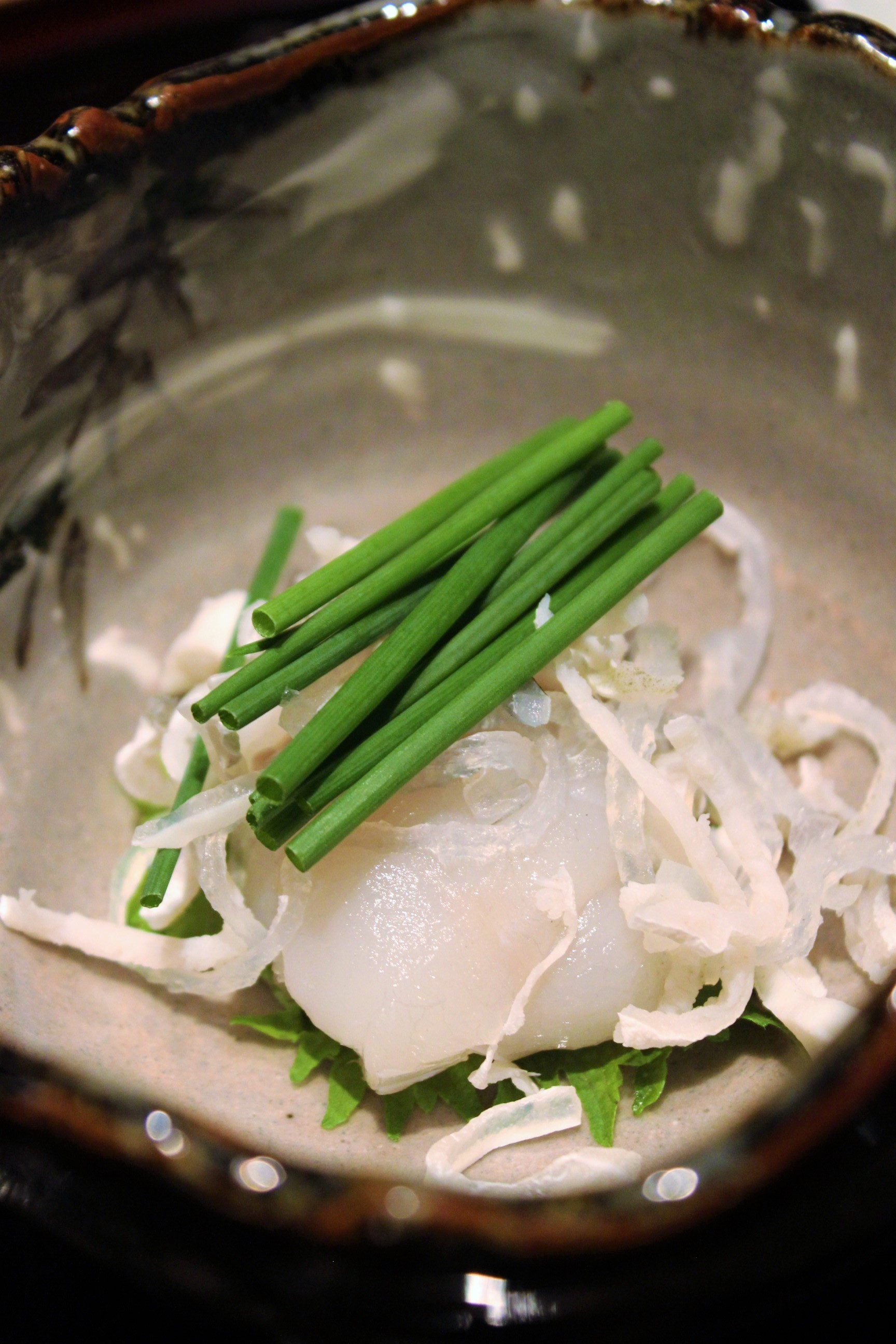 Fugu Skin and Meat at Kien in Tokyo, Japan