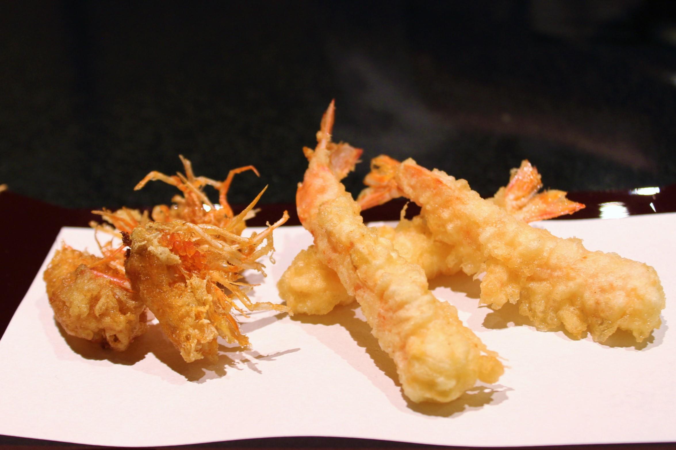 Shrimp Tempura Heads and Bodies
