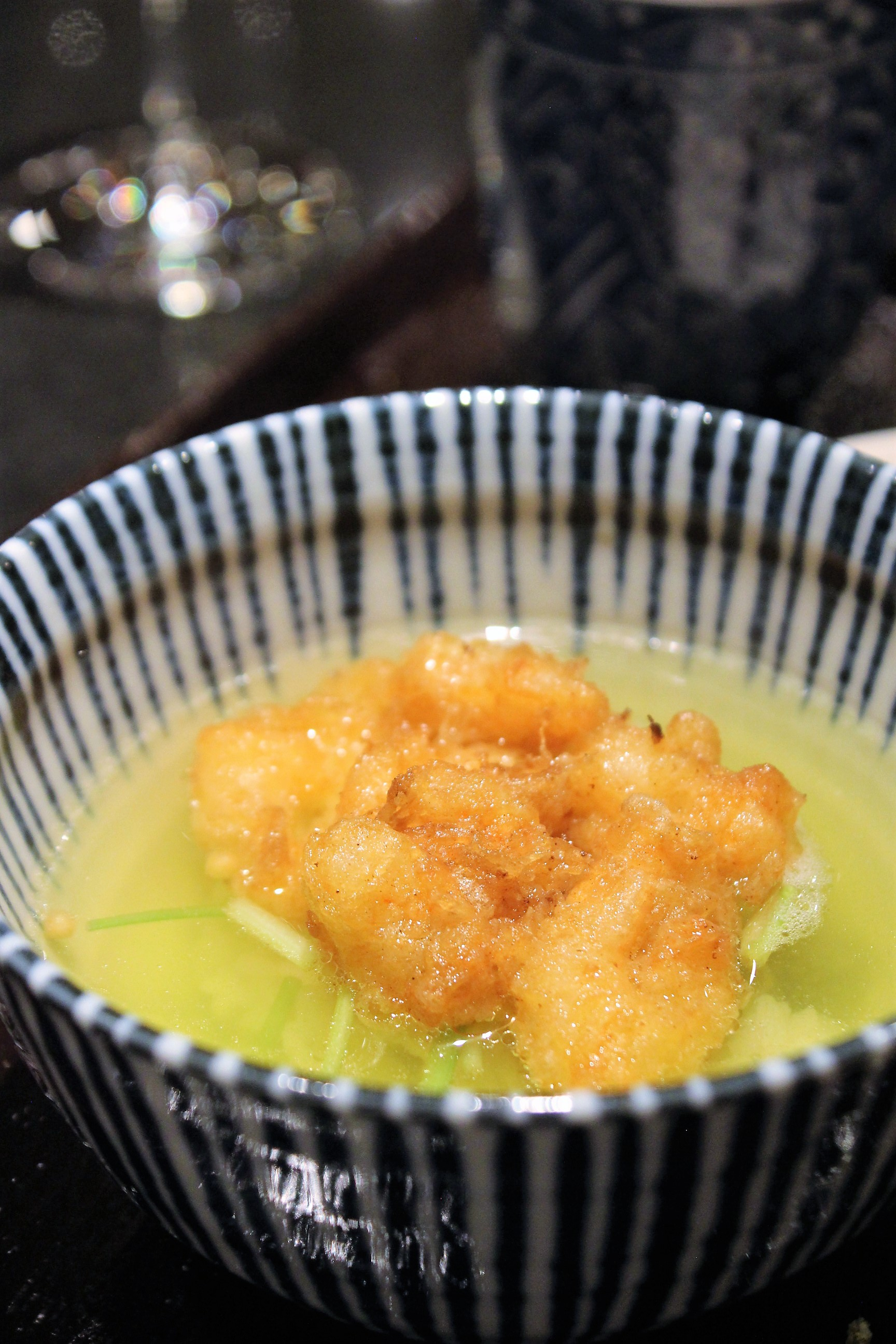 Ten-cha at Tempura Endo Yasaka