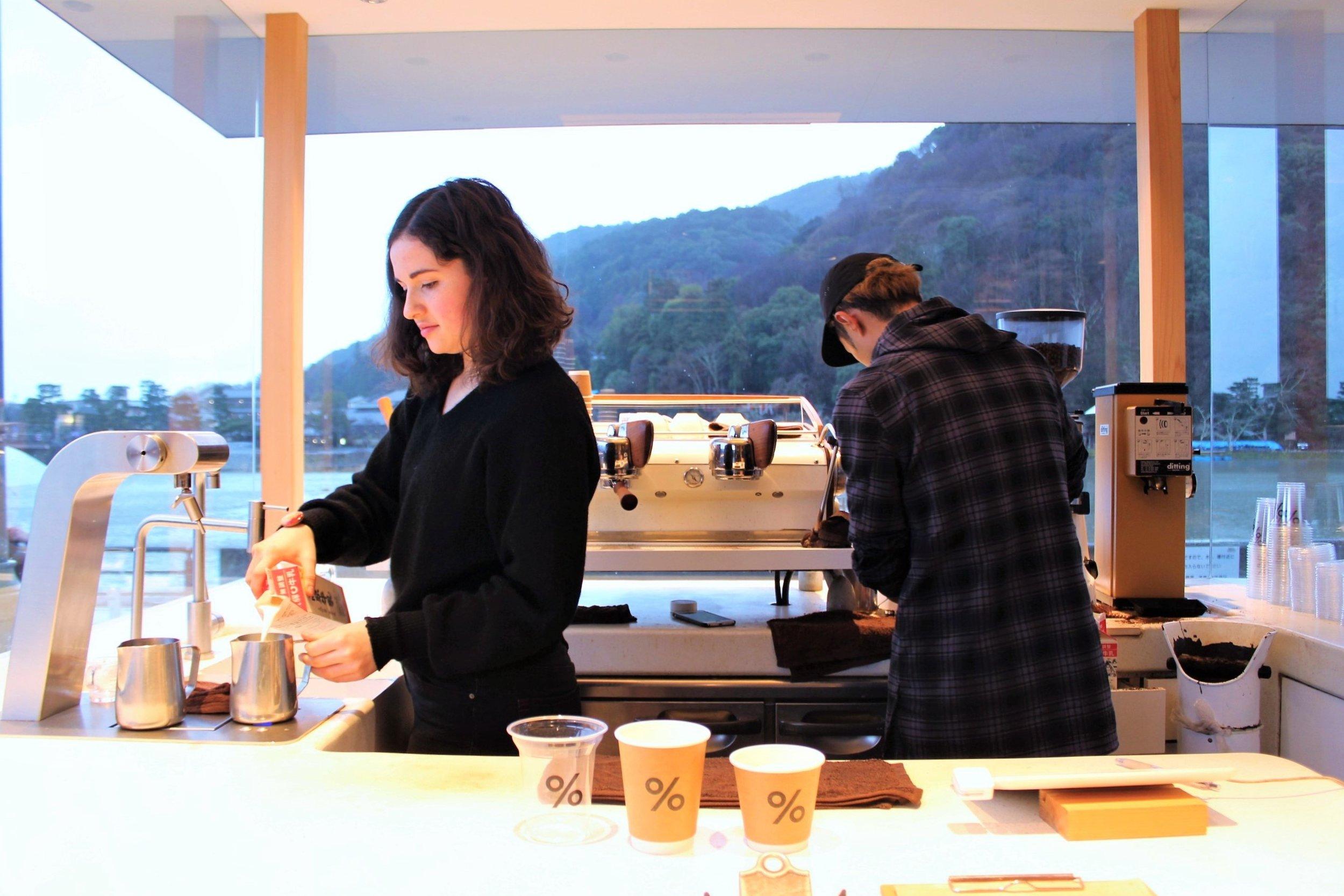 Preparing the Lattes