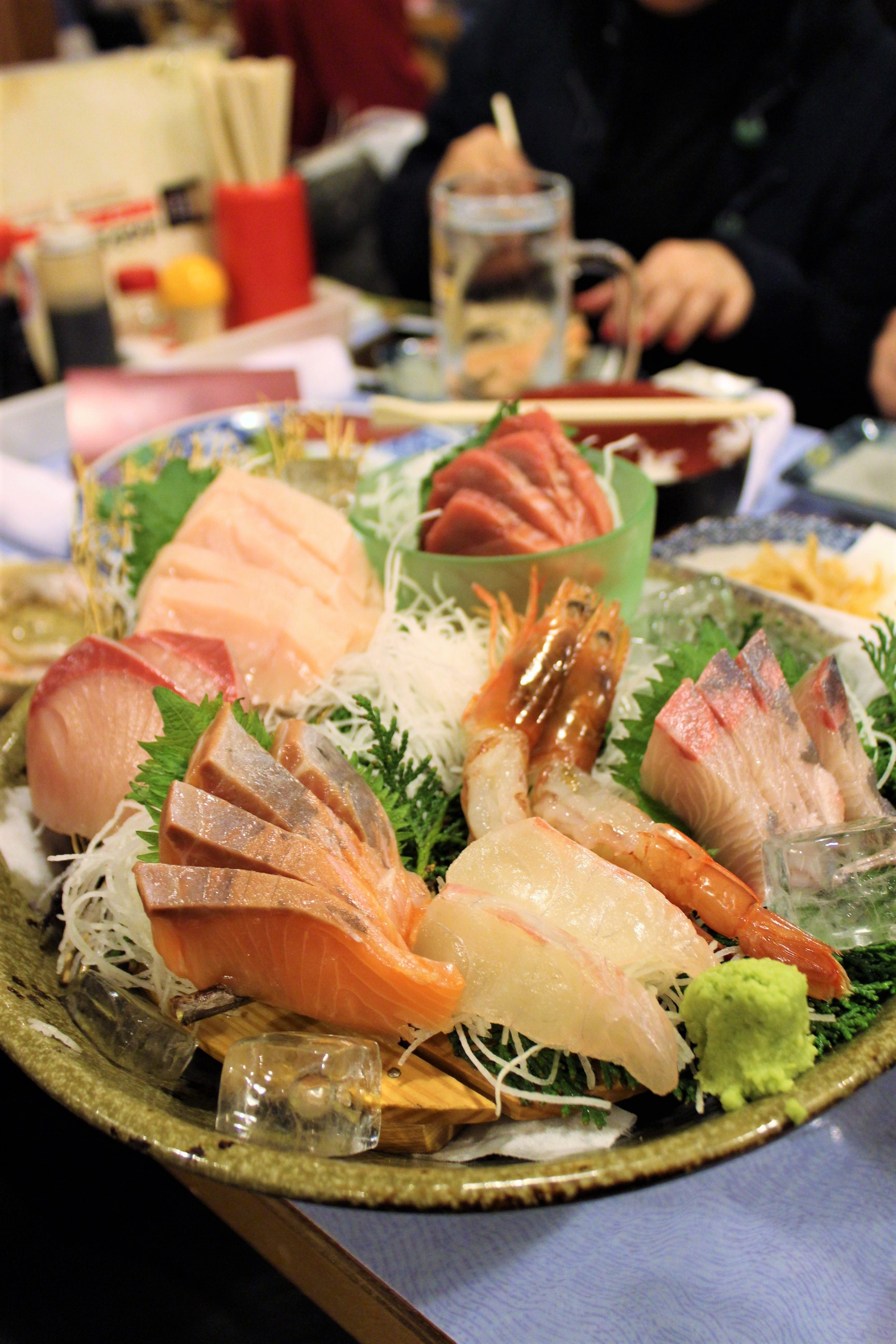 Assorted Sashimi at Isomaru Suisan in Osaka, Japan