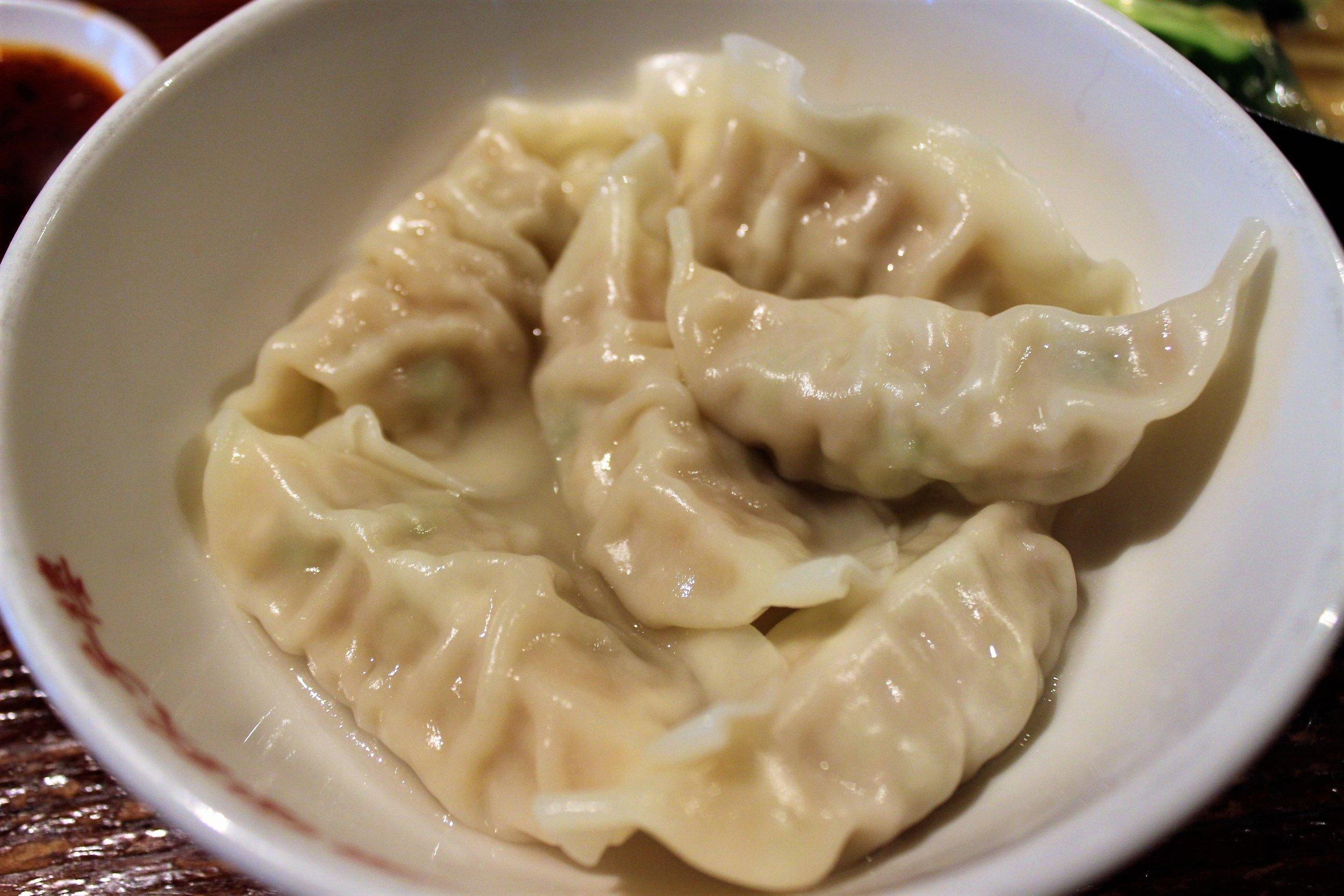 Original Steamed Dumplings at Harajuku Gyoza Lou in Japan