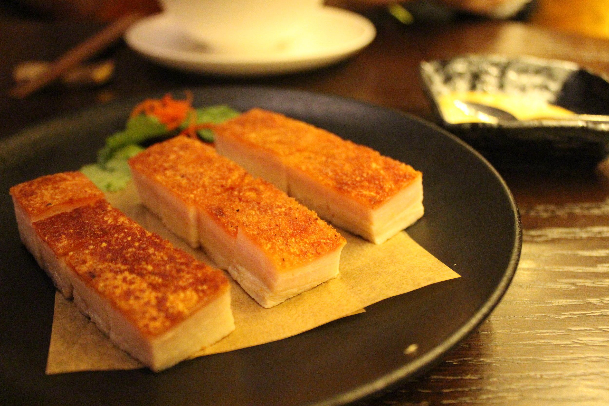 Crispy Roasted Pork Belly
