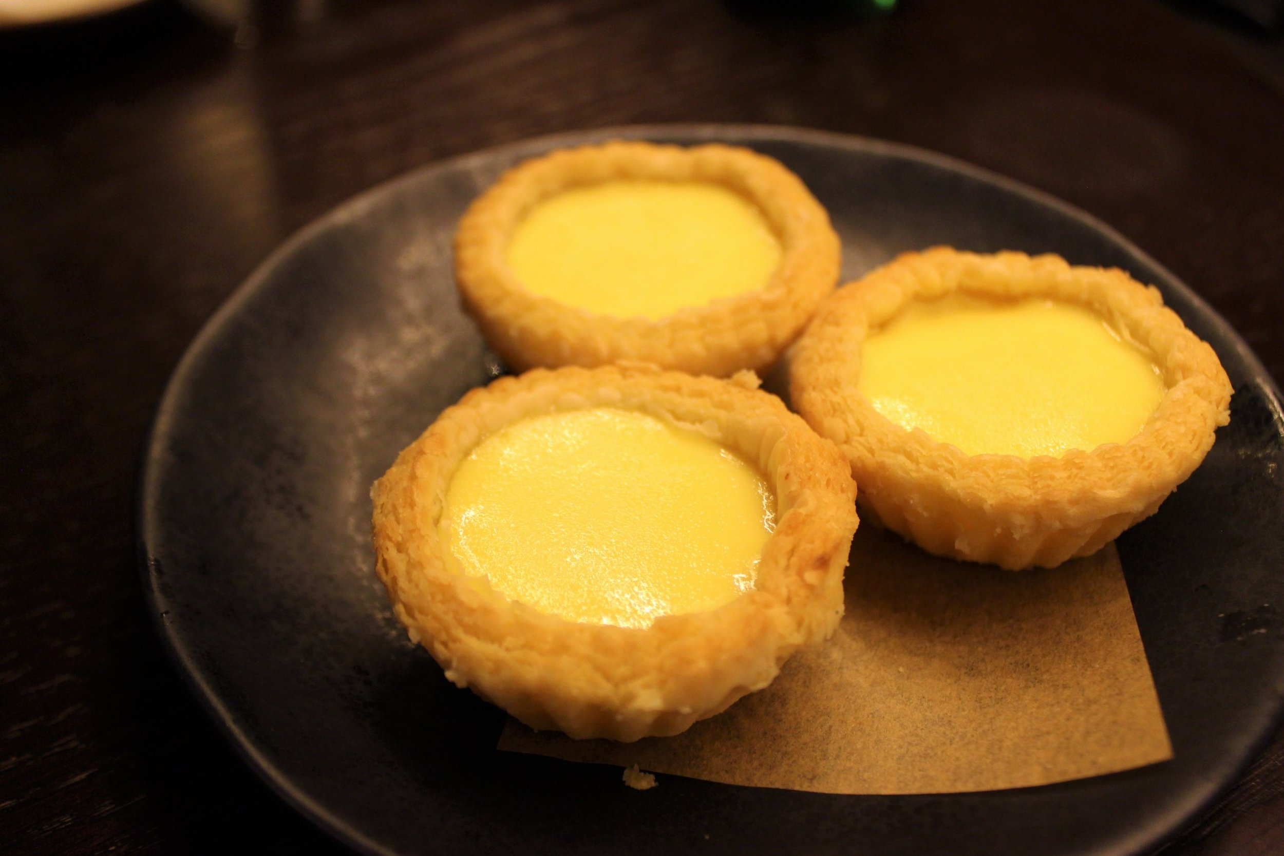 Flaky Egg Tarts
