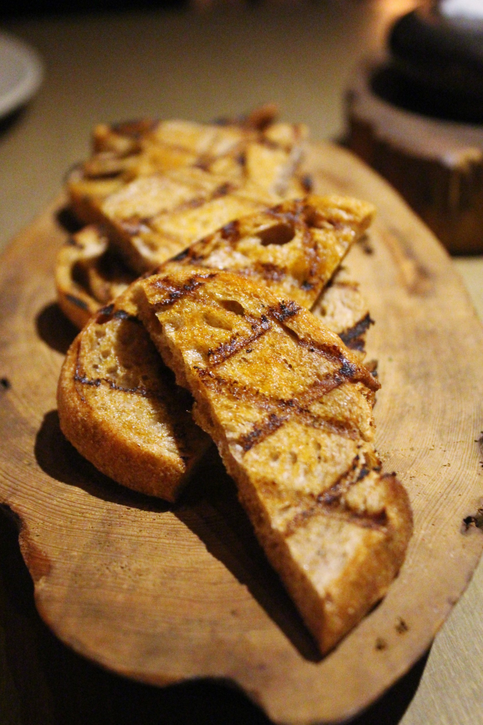 Grilled Toast at Mume in Taiwan