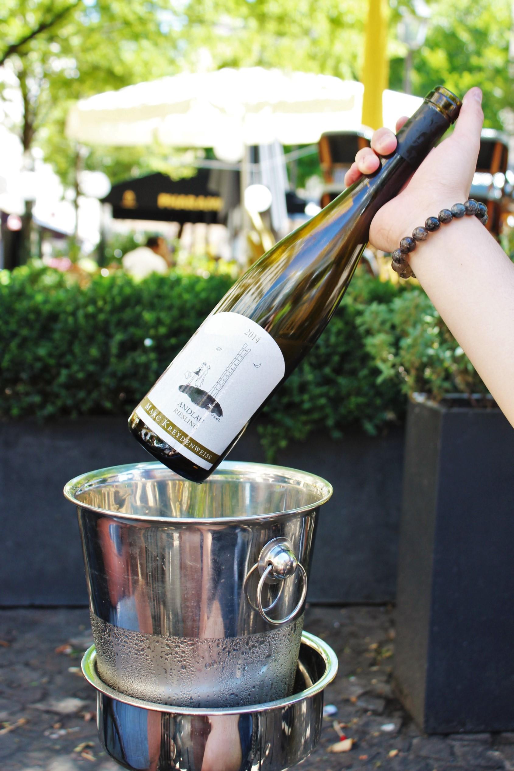 Wine: Andlau Riesling 2014, Marc Kreydenweiss