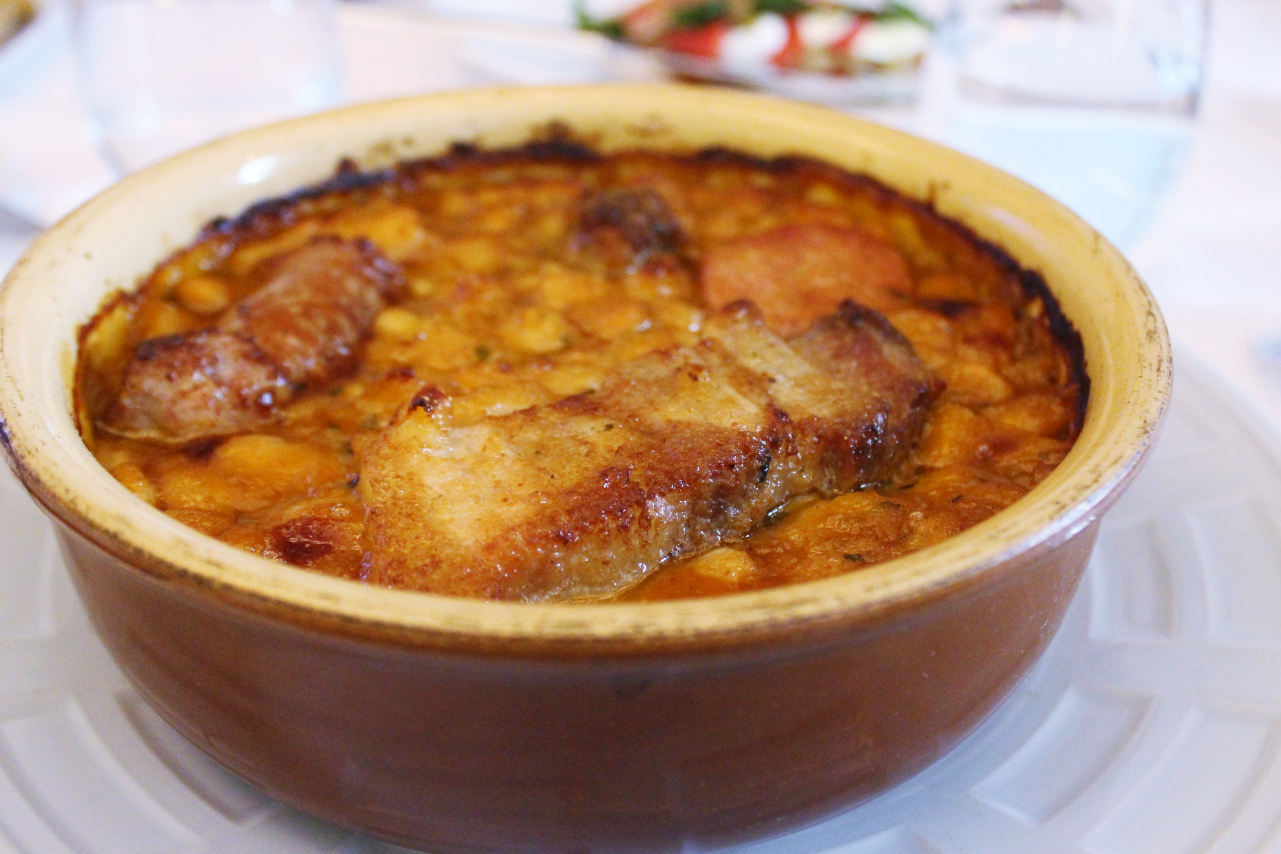 Cassoulet from my region of Montauban at Le Violon D'Ingres in Paris