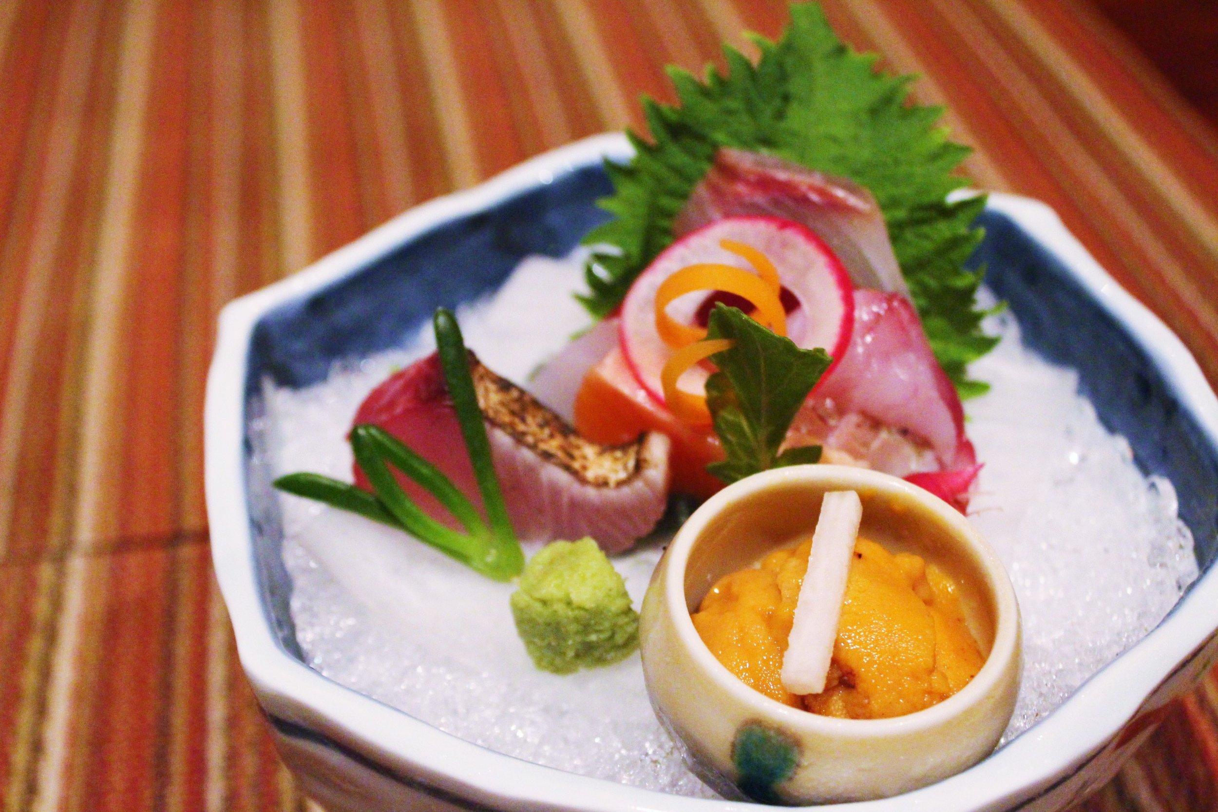 Fresh Sashimi at Kyo Ya