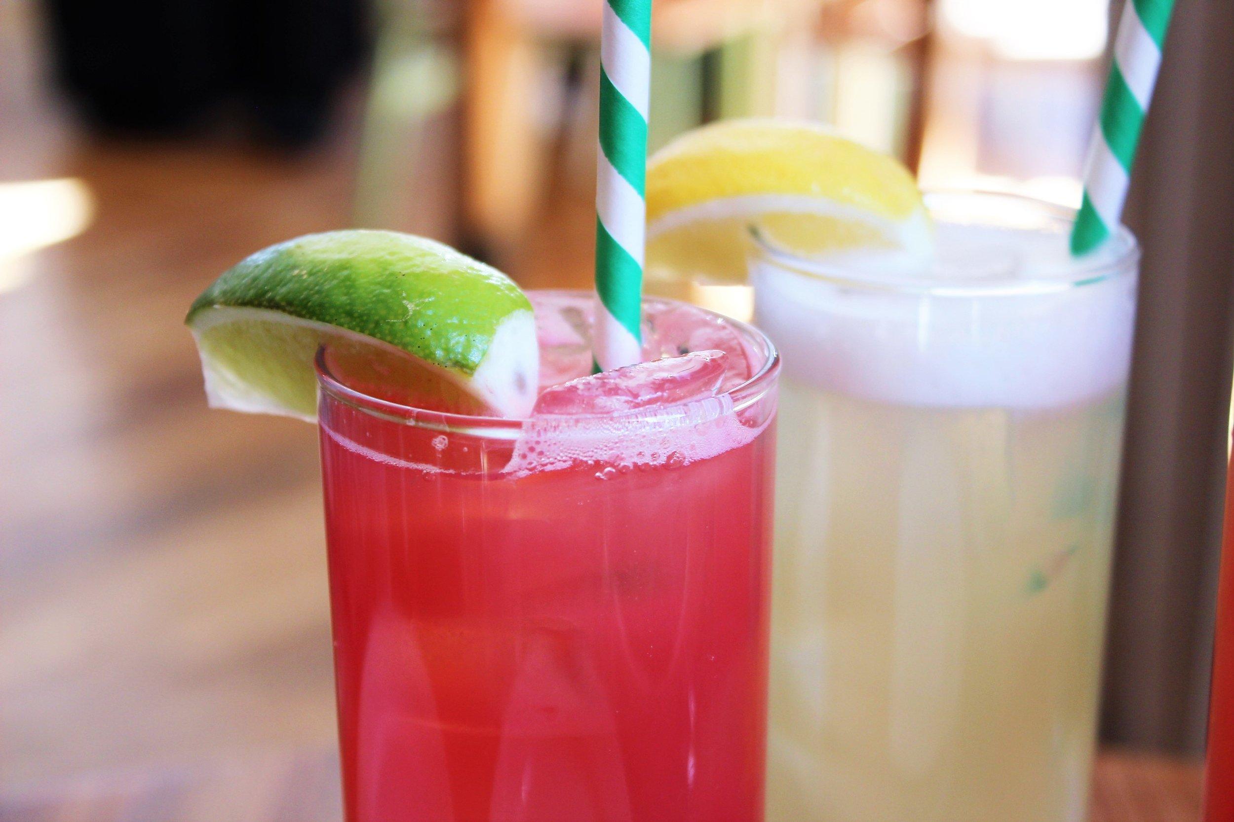 Watermelon Juice and Lemonade at Seamore's