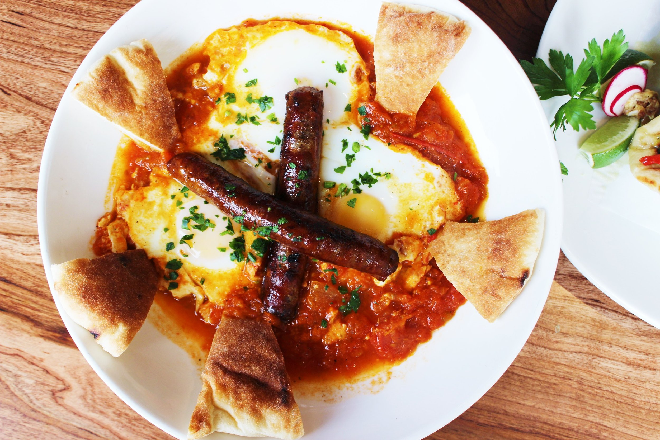 Shakshuka Moroccan Breakfast at Mémé Mediterranean