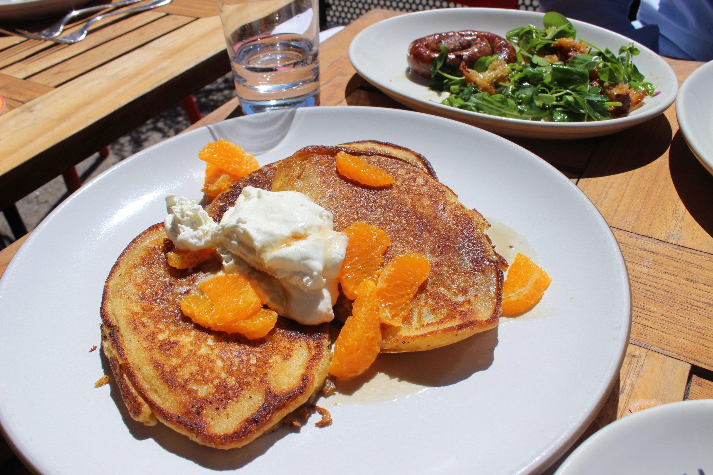 Quinoa Pancakes: Clementines and Pennsylvania Maple