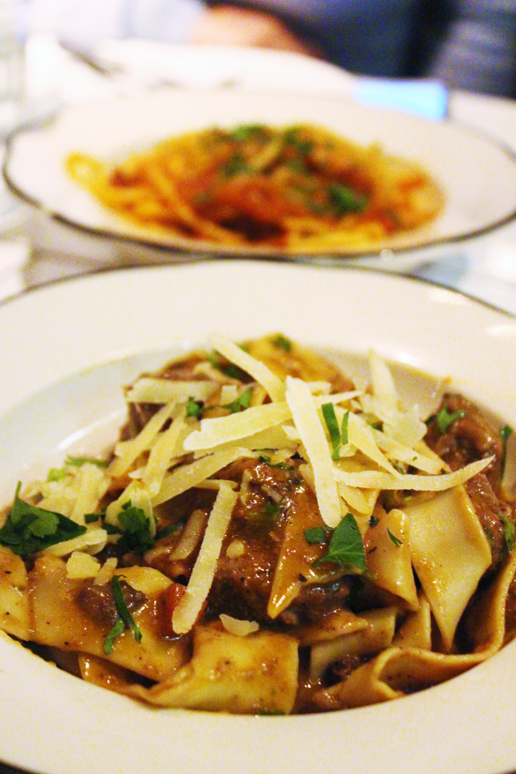 Pappardelle Cinghiale: Slow Braised Wild Boar at Briciola