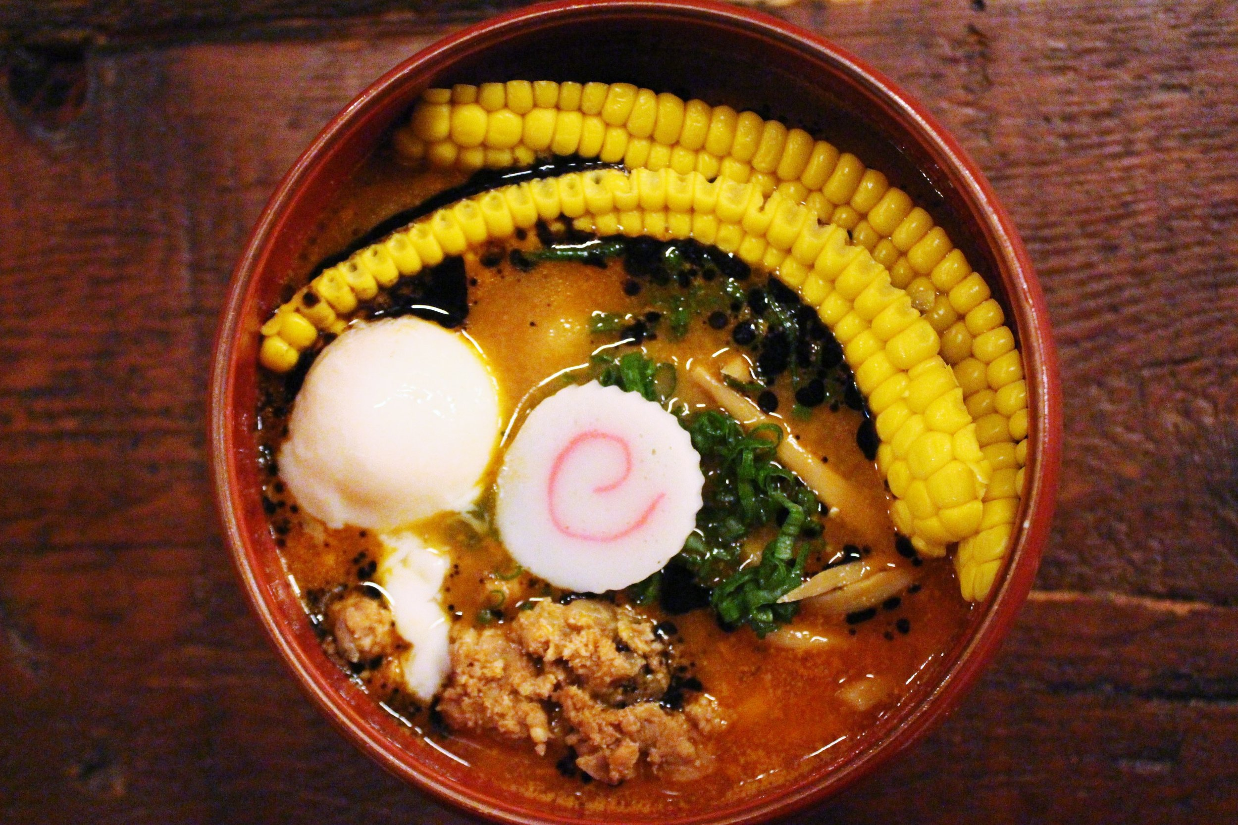 Spicy Miso Ramen: Red Miso and Pork Based Soup at Mu Ramen